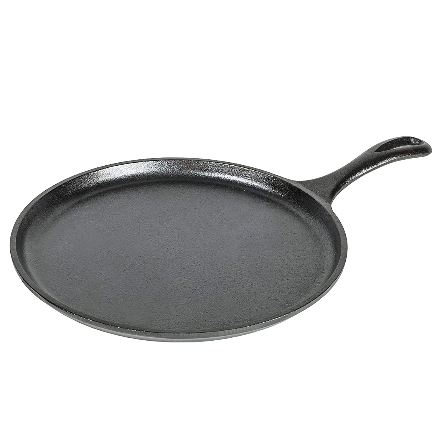 Lodge Pre-Seasoned Cast Iron Griddle With Easy-Grip Handle