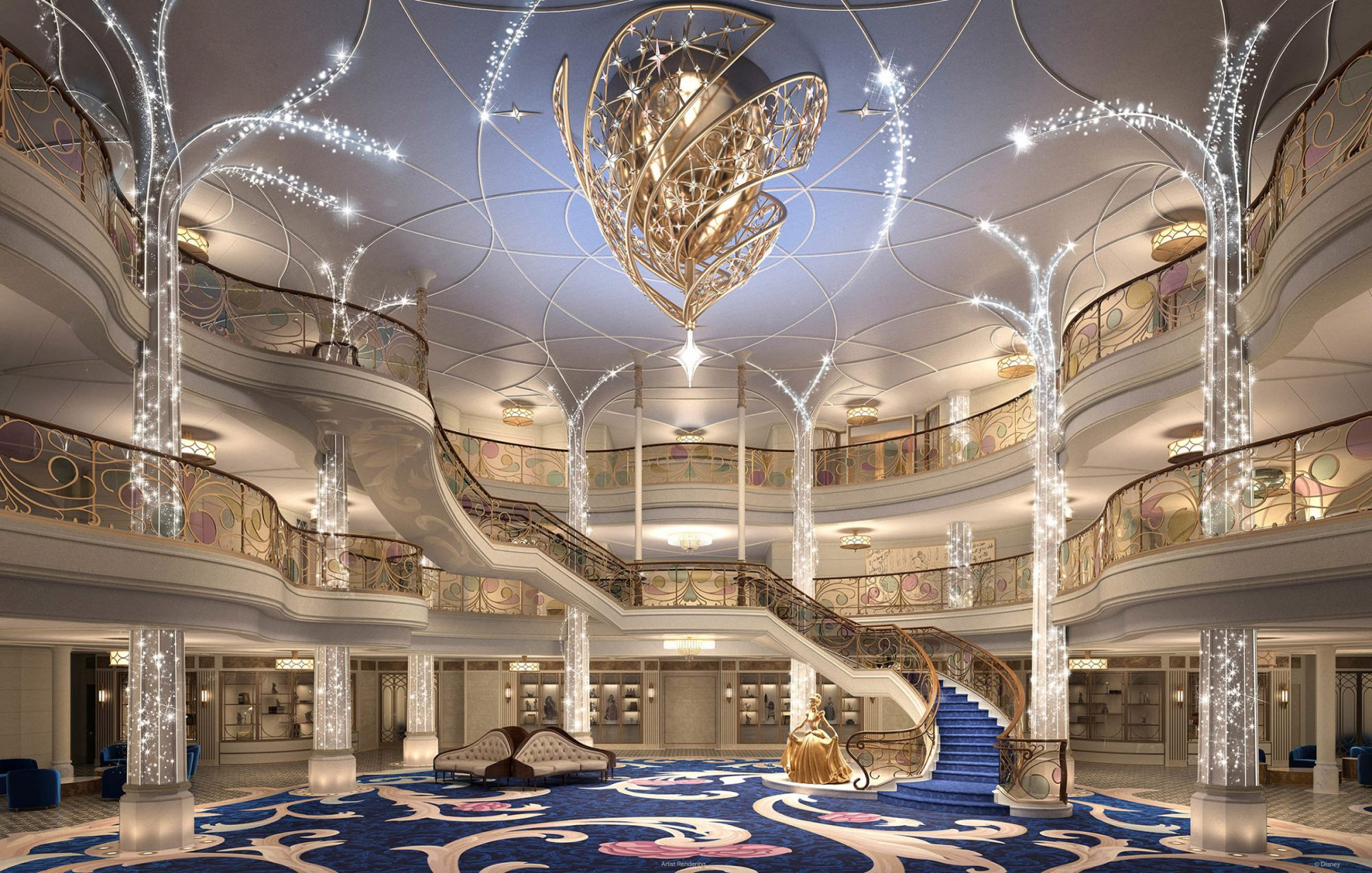 Disney Cruise Line's Newest Ship Will Be a Cinderella-Inspired 'Castle on the Seas'