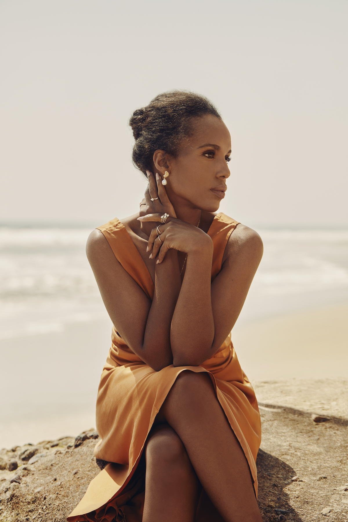 Aurate x Kerry Washington Mother's Day 2021 Jewelry Collection - Photos by David Urbanke