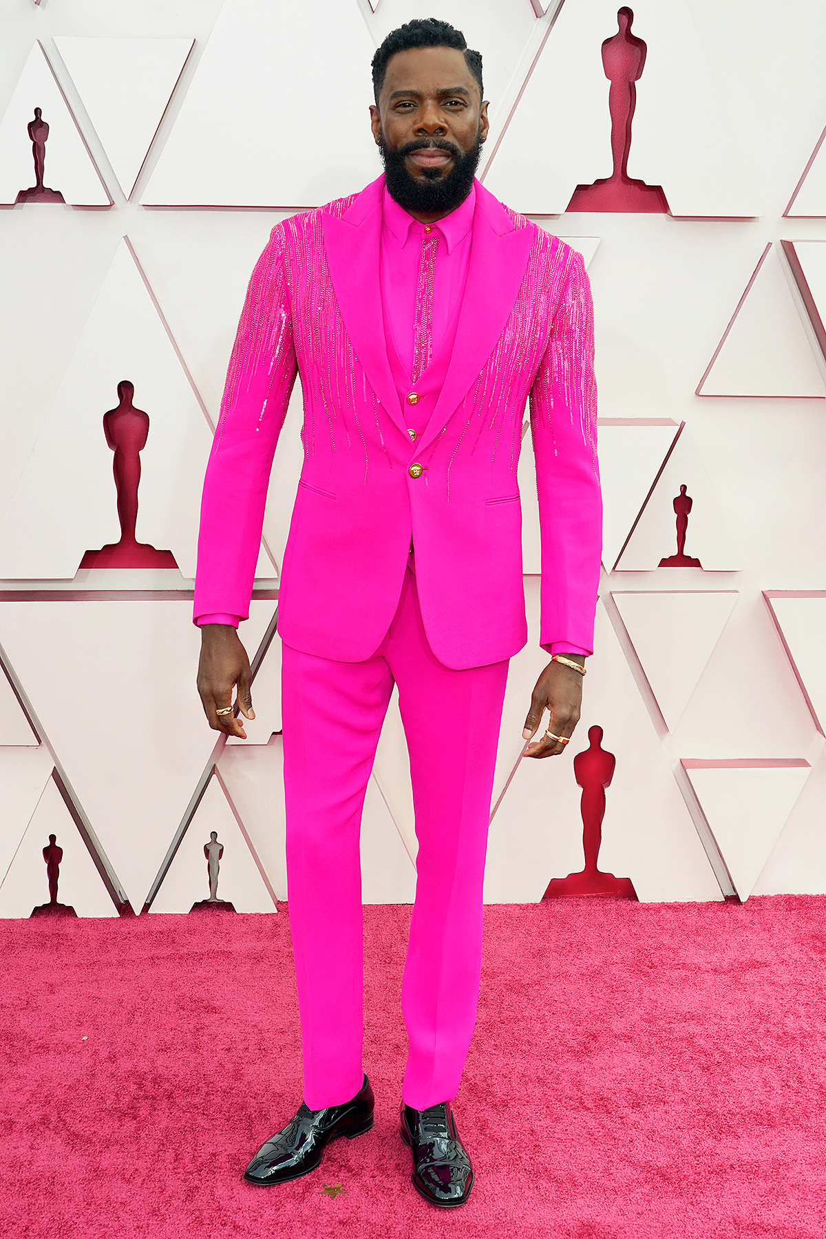 Colman Domingo attends the 93rd Annual Academy Awards at Union Station on April 25, 2021 in Los Angeles, California