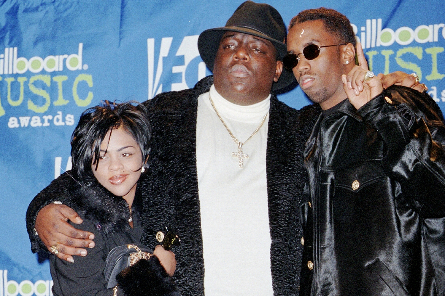 Lil Kim, the Notorious B.I.G., Sean Puffy Combs