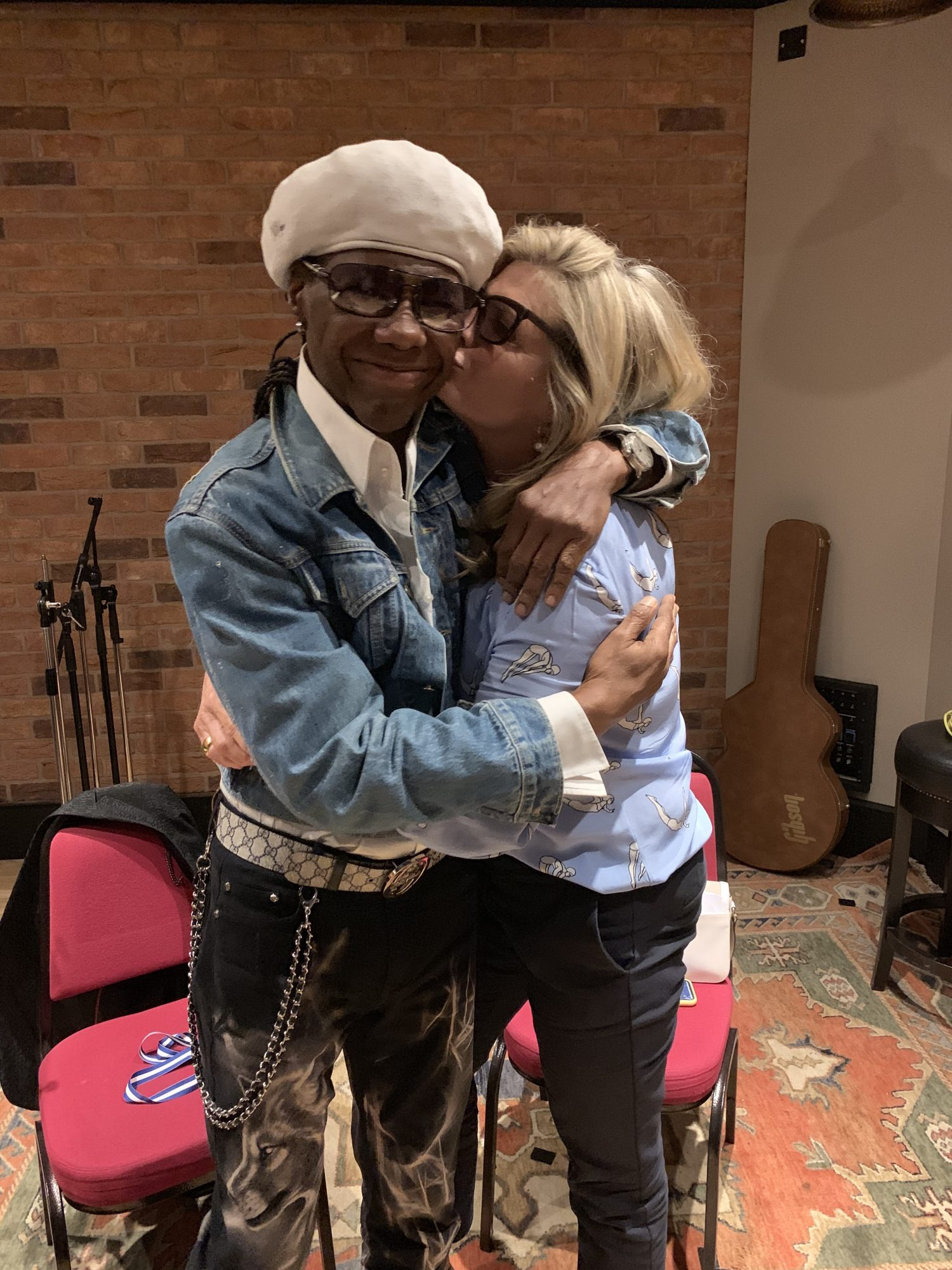 susannah constantine and Nile Rodgers