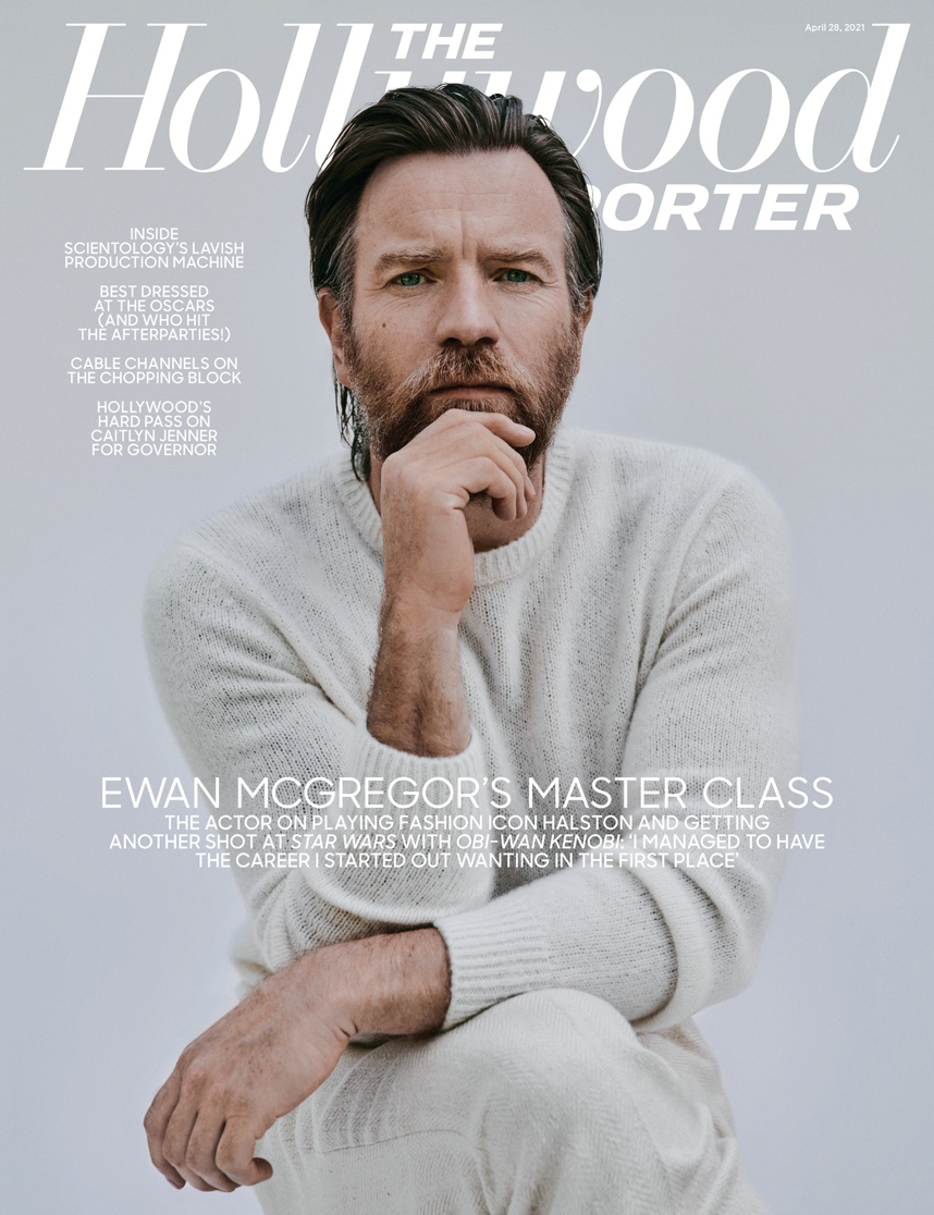 The Hollywood Reporter cover story on Ewan McGregor