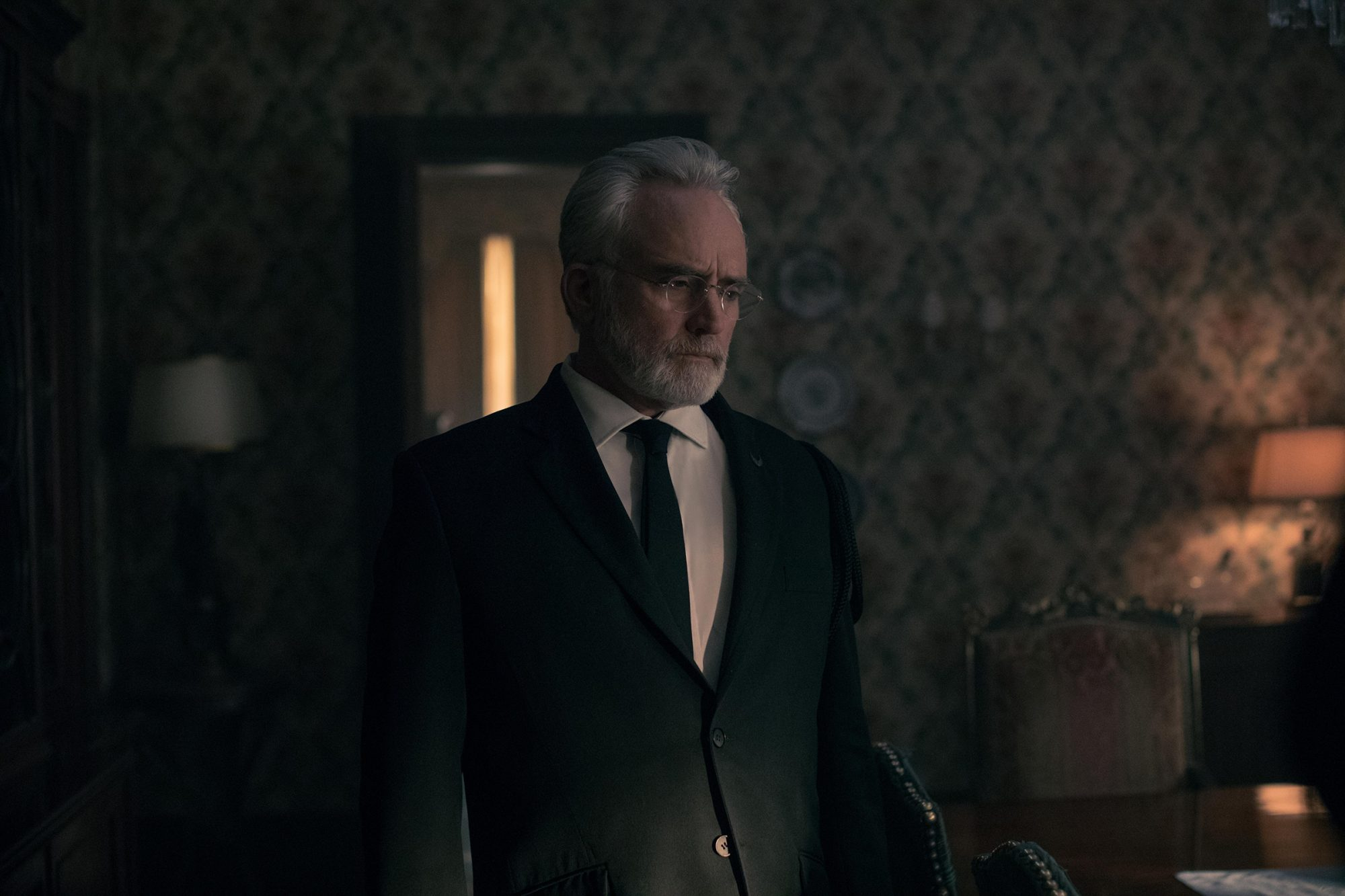 """The Handmaid's Tale -- """"Mayday"""" - Episode 313 -- With her plan in place, June reaches the point of no return on her bold strike against Gilead and must decide how far she's willing to go. Serena Joy and Commander Waterford attempt to find their way forward in their new lives. Joseph (Bradley Whitford),"""