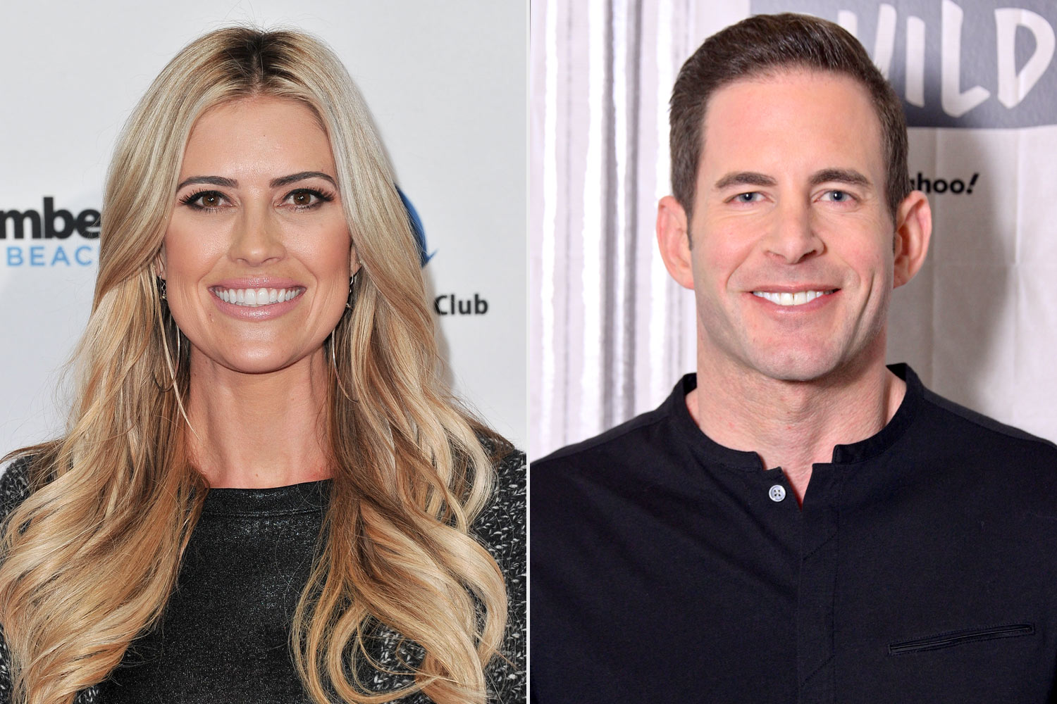Christina Anstead and Tarek El Moussa