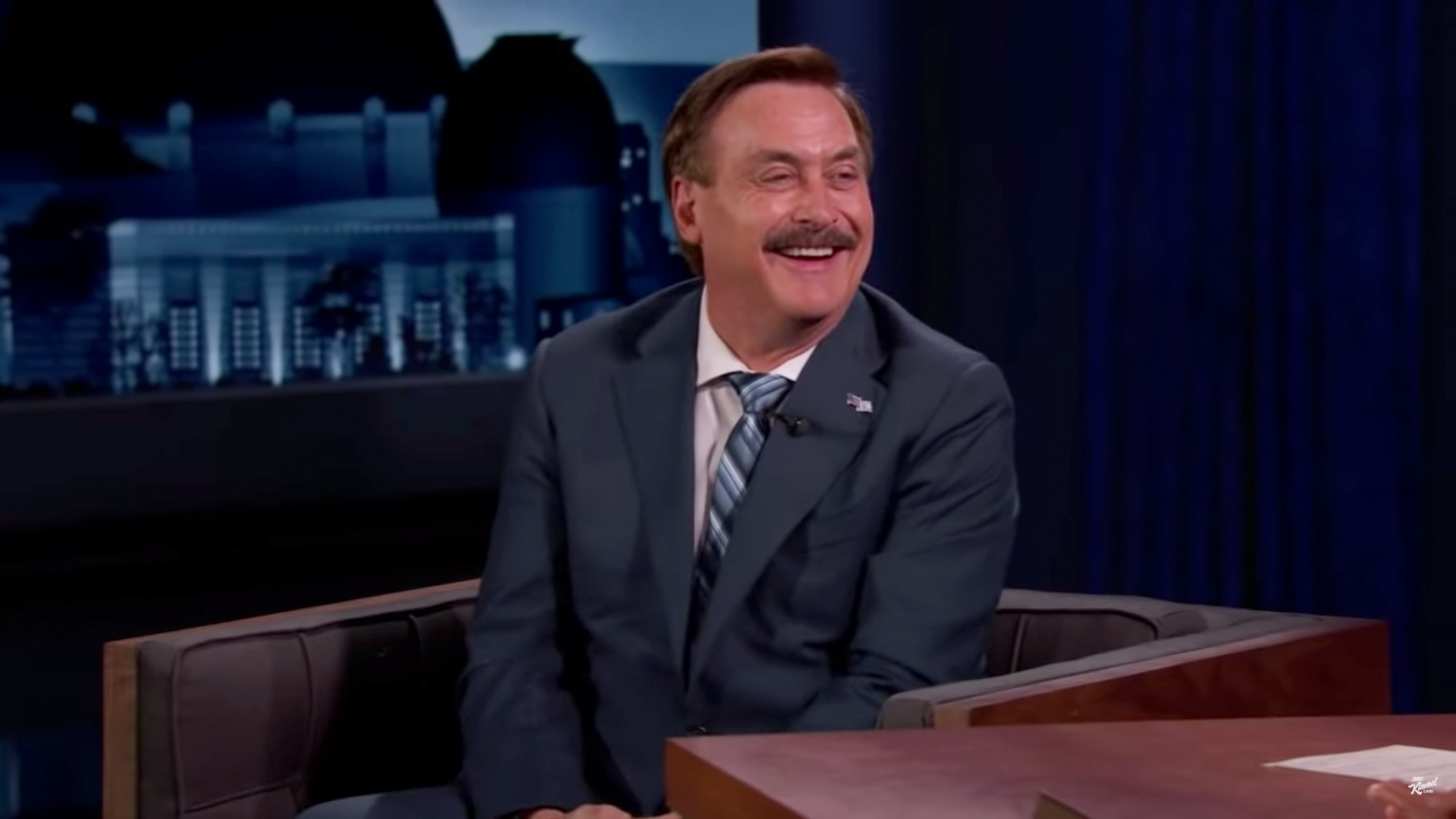 MyPillow.com CEO Mike Lindell on Jimmy Kimmel Live