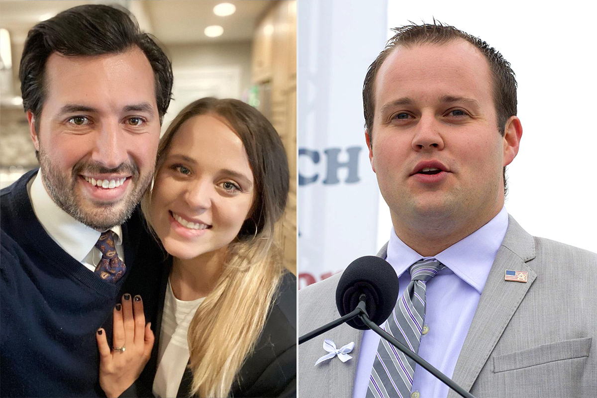Jinger and Jeremy Vuolo, Josh Duggar
