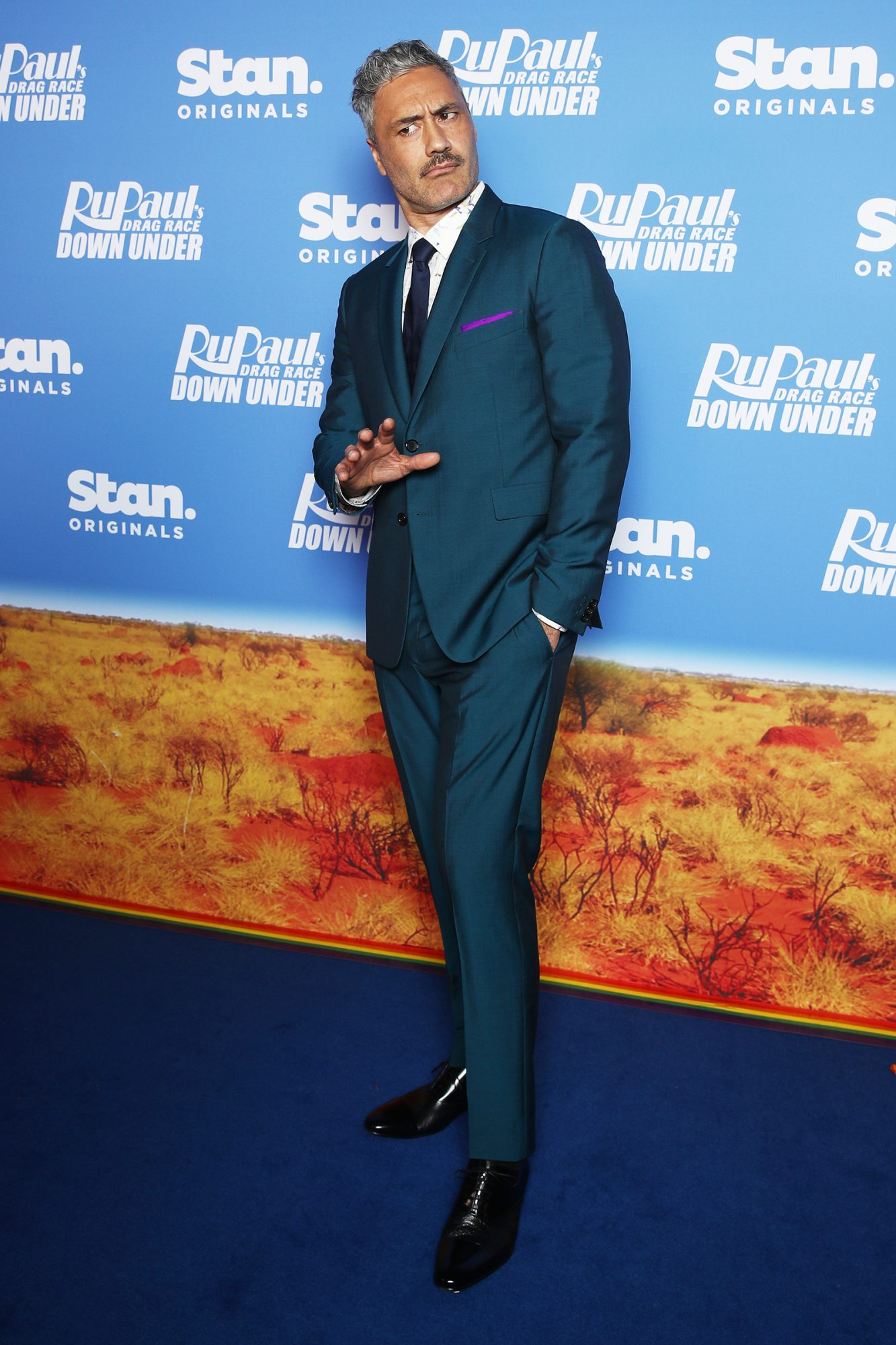 Taika Waititi attends the premiere of RuPaul's Drag Race Down Under at Sydney Opera House on April 30, 2021 in Sydney, Australia