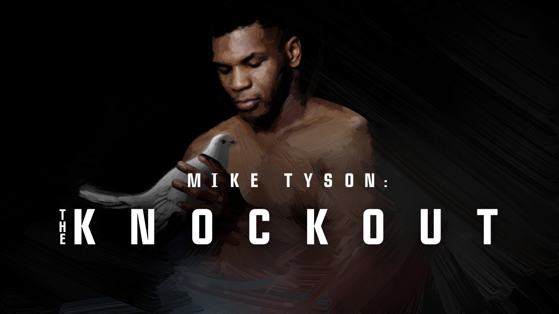 Mike Tyson.The Knockout Logo