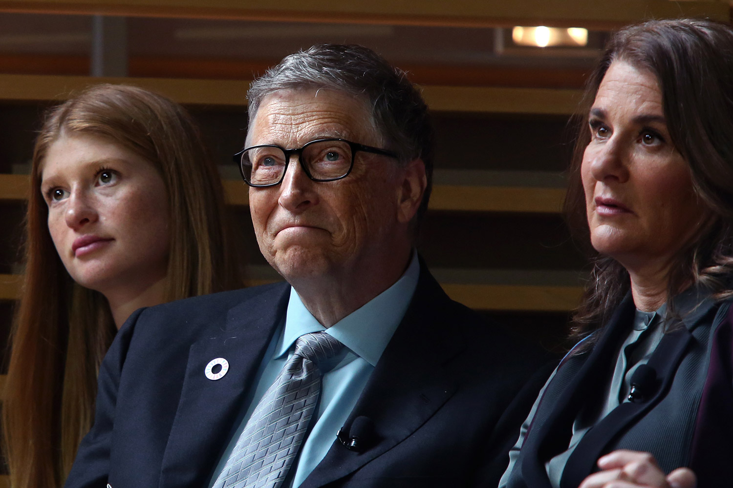 Jennifer Gates and her parents, Bill and Melinda Gates