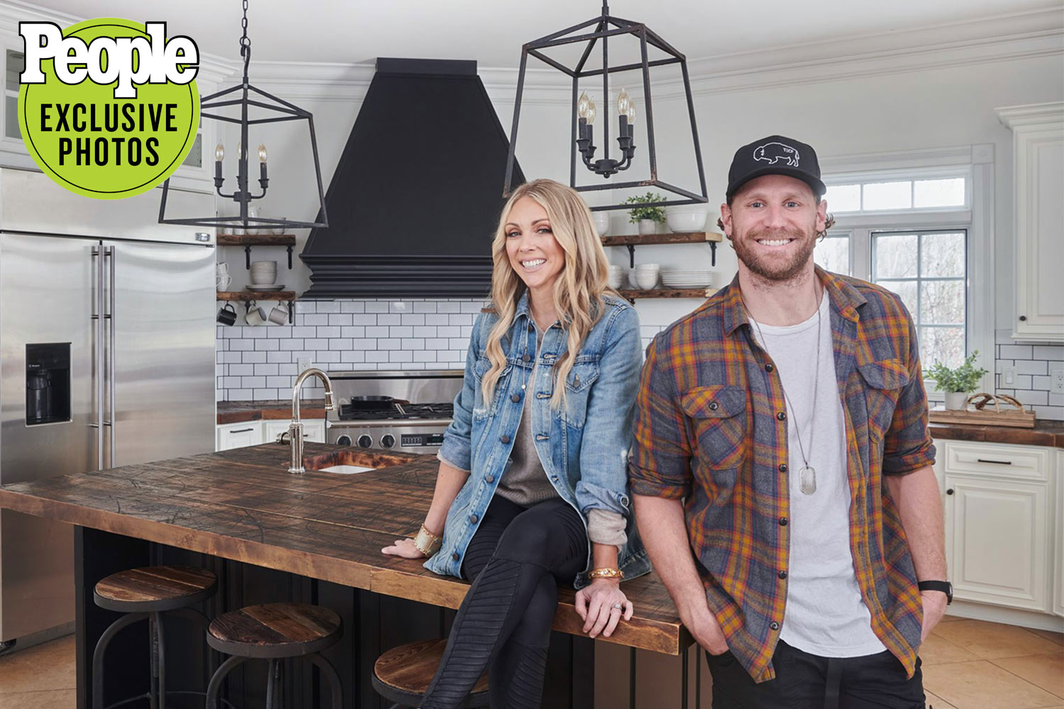 Jenny Reimold & Chase Rice Home Makeover