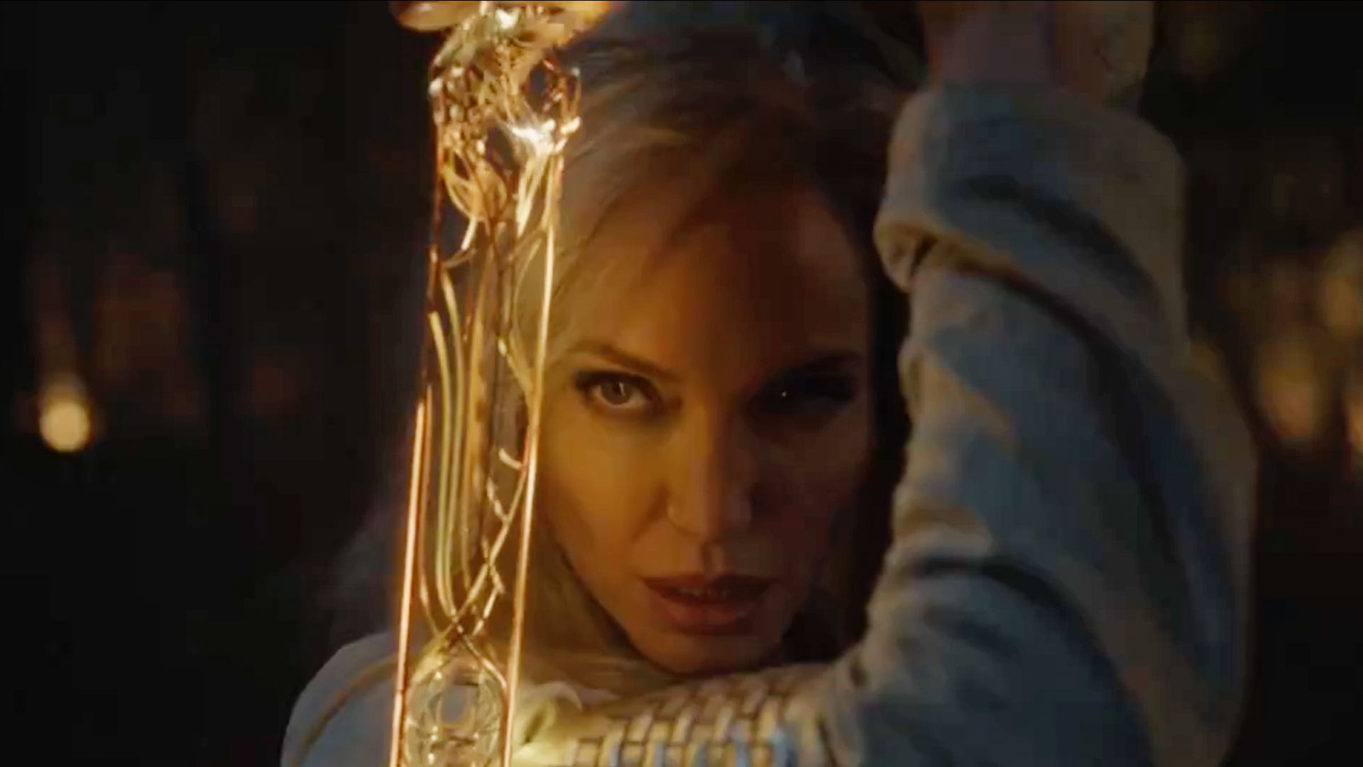 Angelina jolie in the eternals