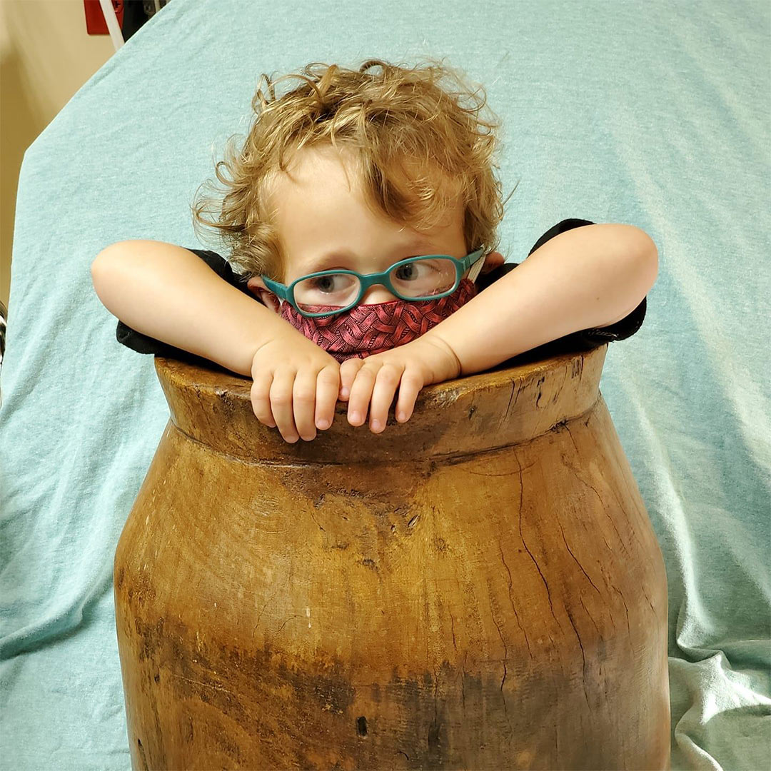 Tennessee Toddler Freed from Antique Wooden Barrel