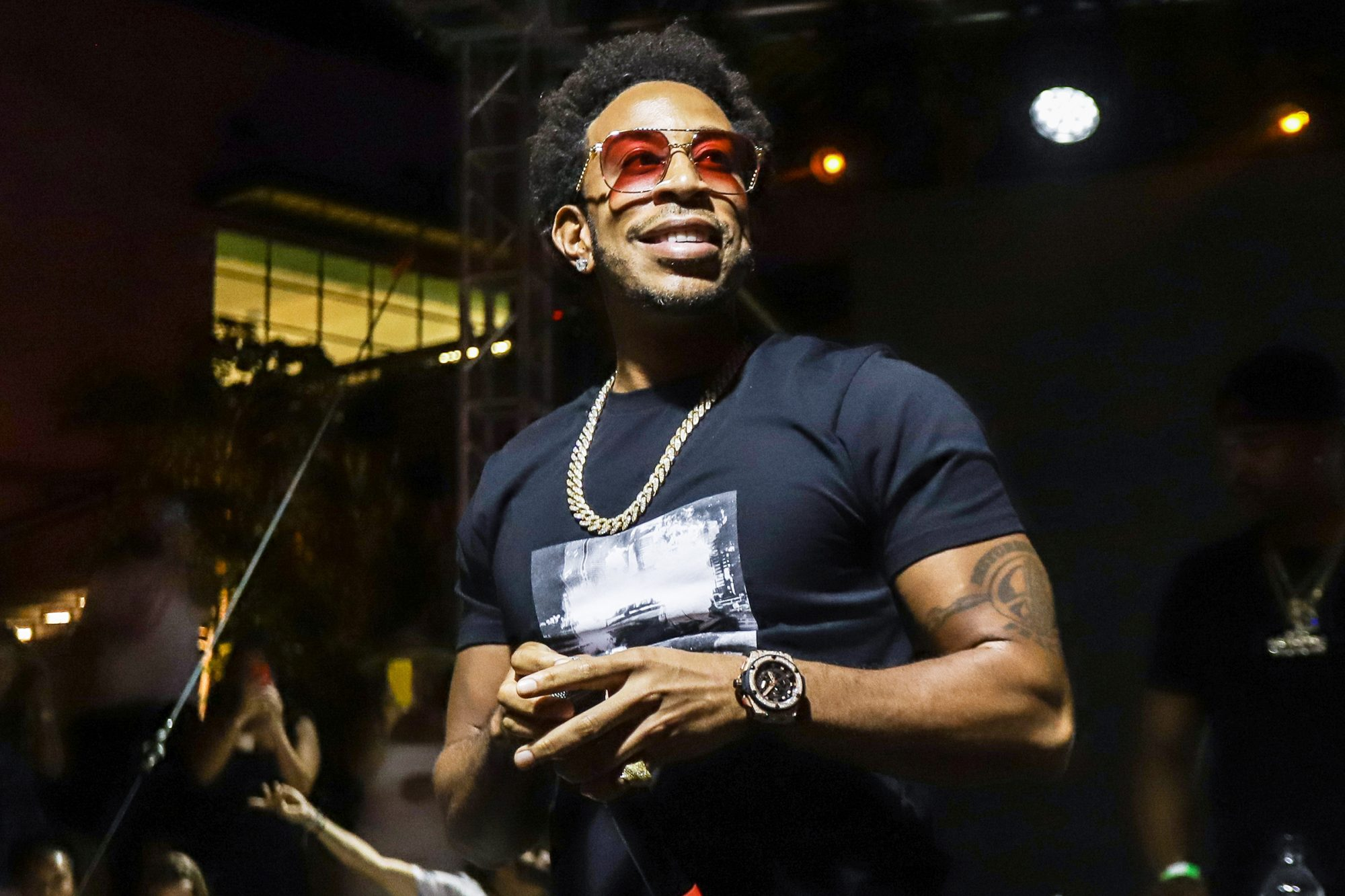 Ludacris performs at The Oasis Opening Event on May 02, 2021 in Miami, Florida