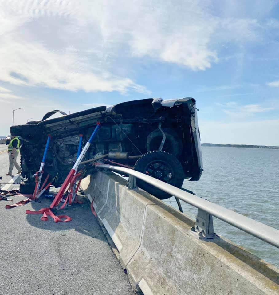 'Good Samaritan' Jumps into Maryland Bay to Rescue Infant That Was Ejected from Car During Crash