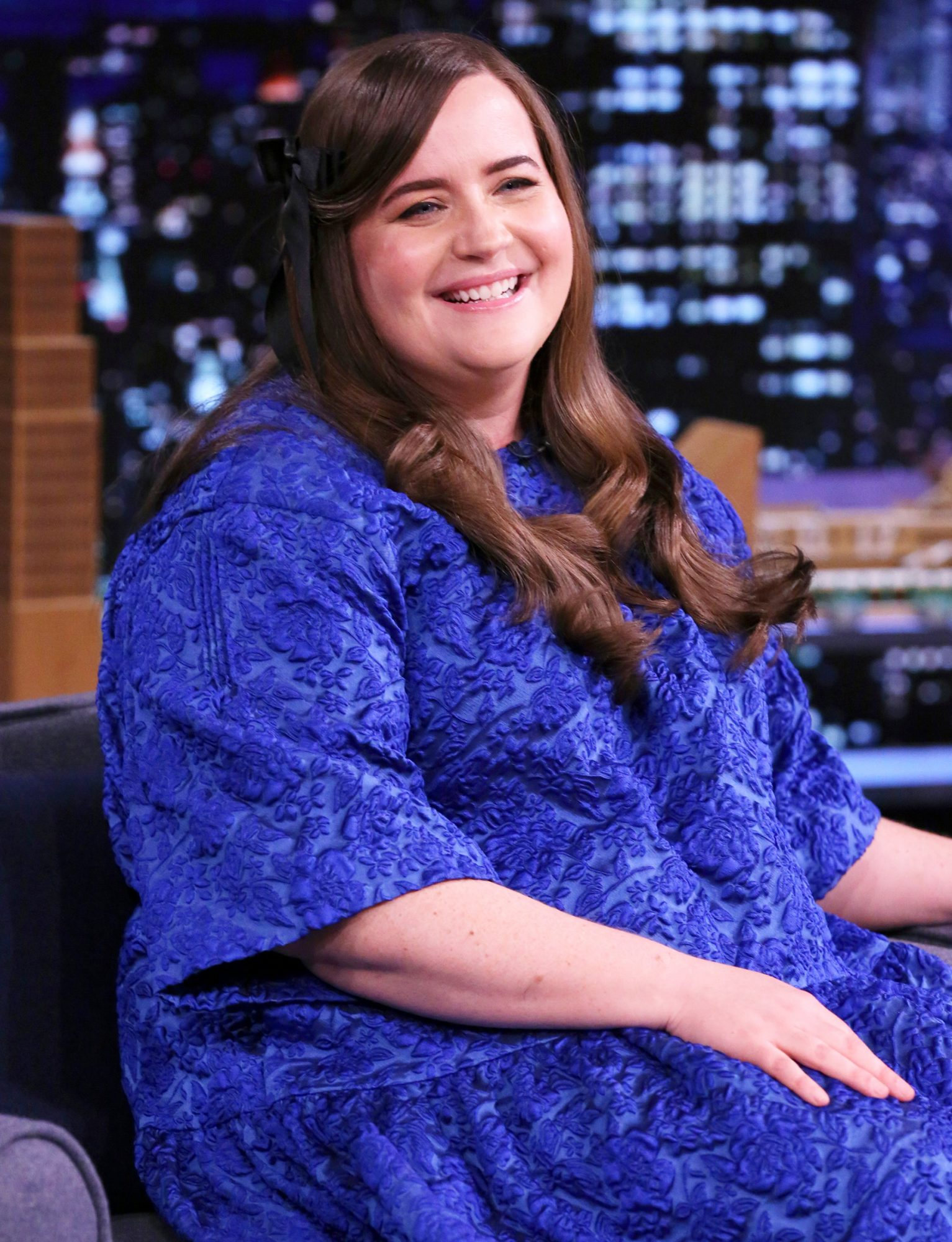 Aidy Bryant during an interview on Monday, May 3, 2021