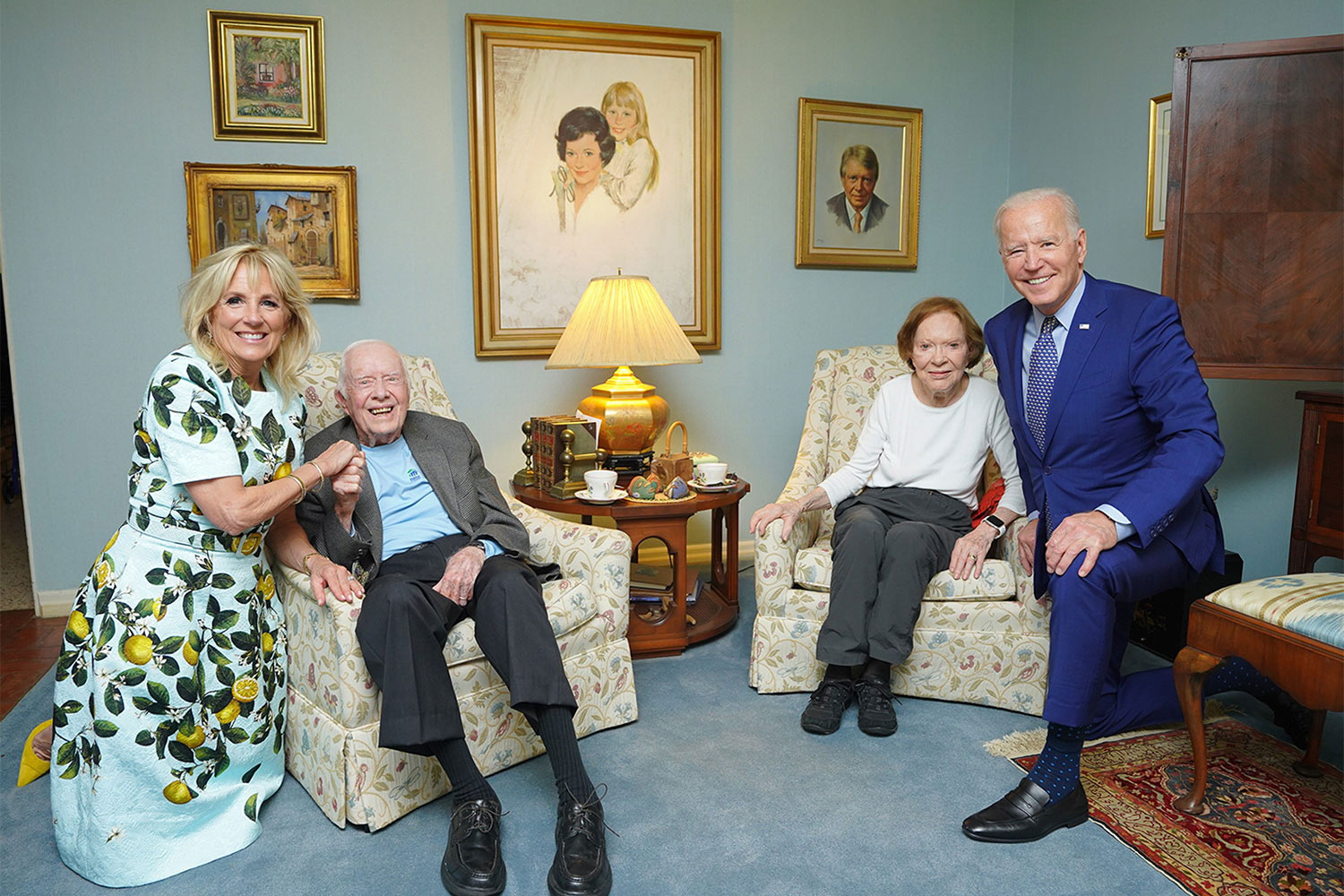 the Bidens and Carters