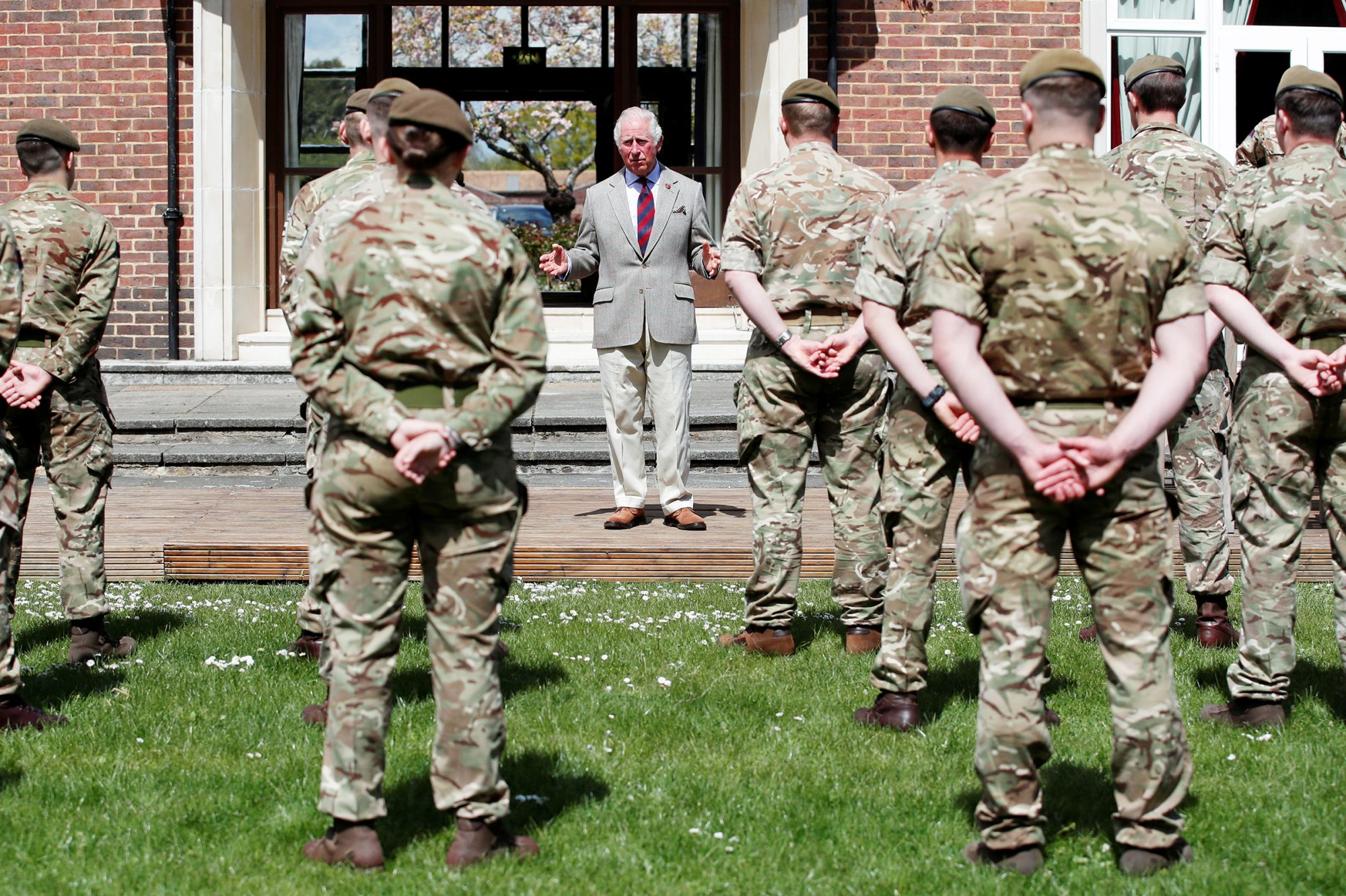 The Prince Of Wales Visits The Welsh Guards