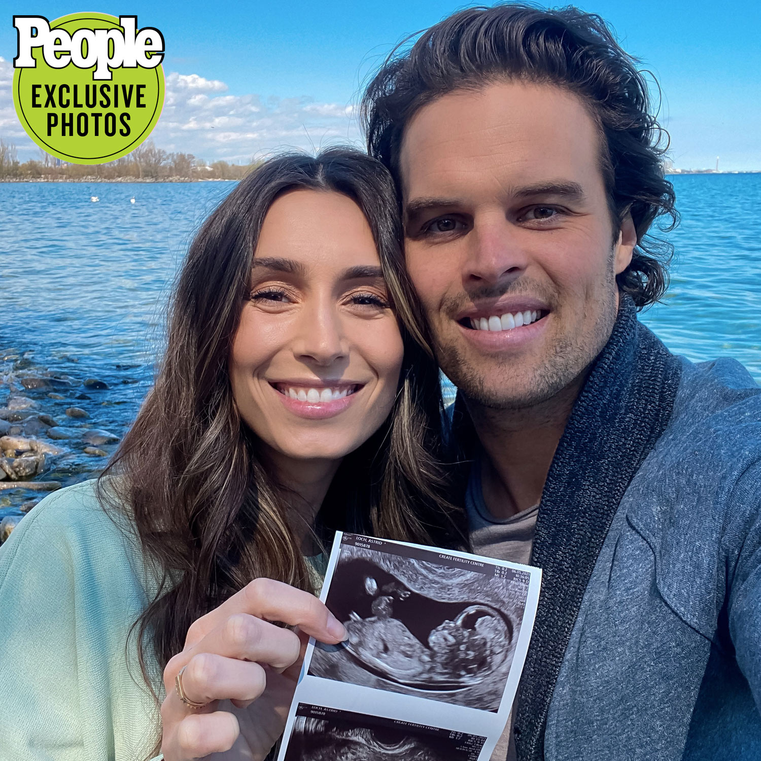 Astrid Loch and Kevin Wendt pregnancy