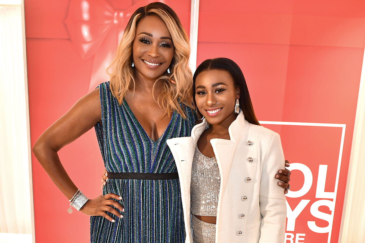 Cynthia Bailey poses with her daughter Noelle Forde Robinson