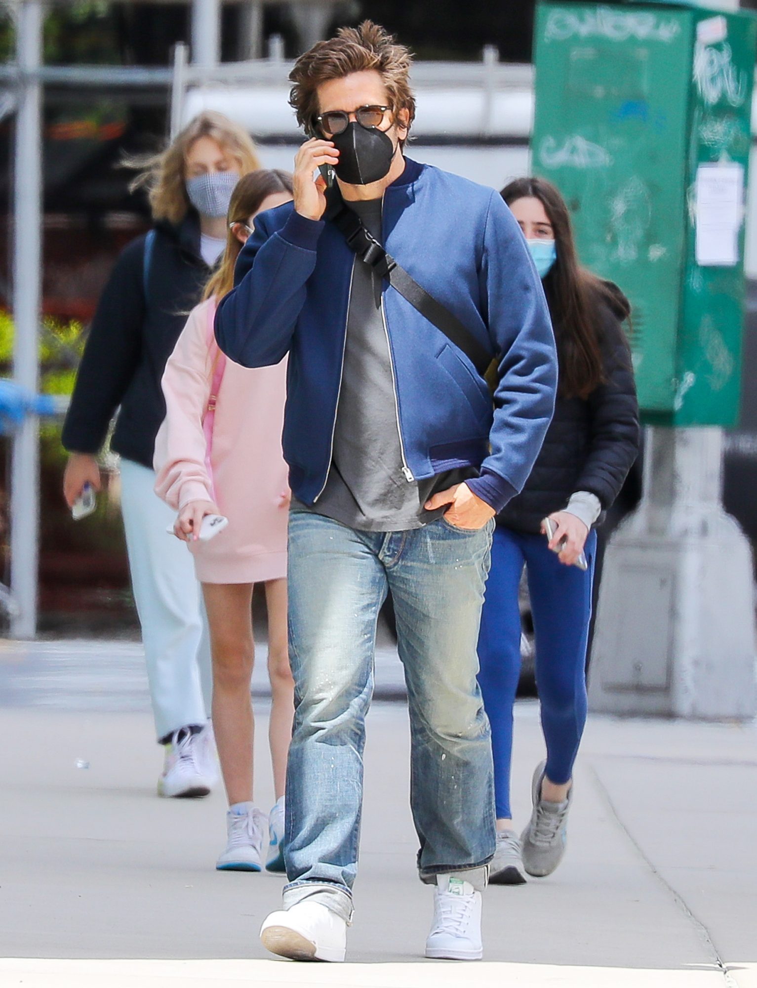 Jake Gyllenhaal And Jeanne Cadieu Go In Separate Ways After They Get Spotted Walking Around In SoHo, NYC
