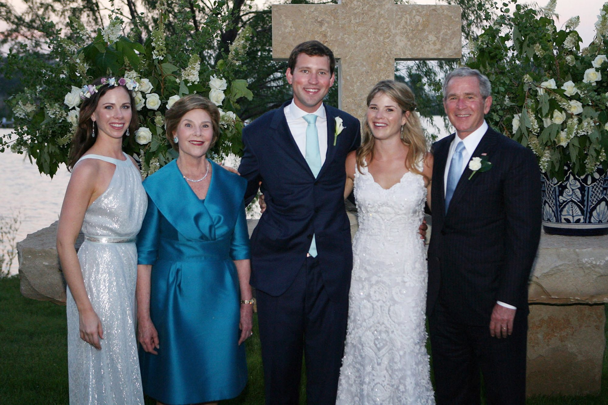 Jenna Bush and Henry Hager Wedding in Crawford, Texasw