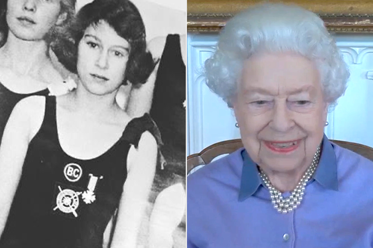 The Queen became the first young person in the Commonwealth to achieve the @rlsscw