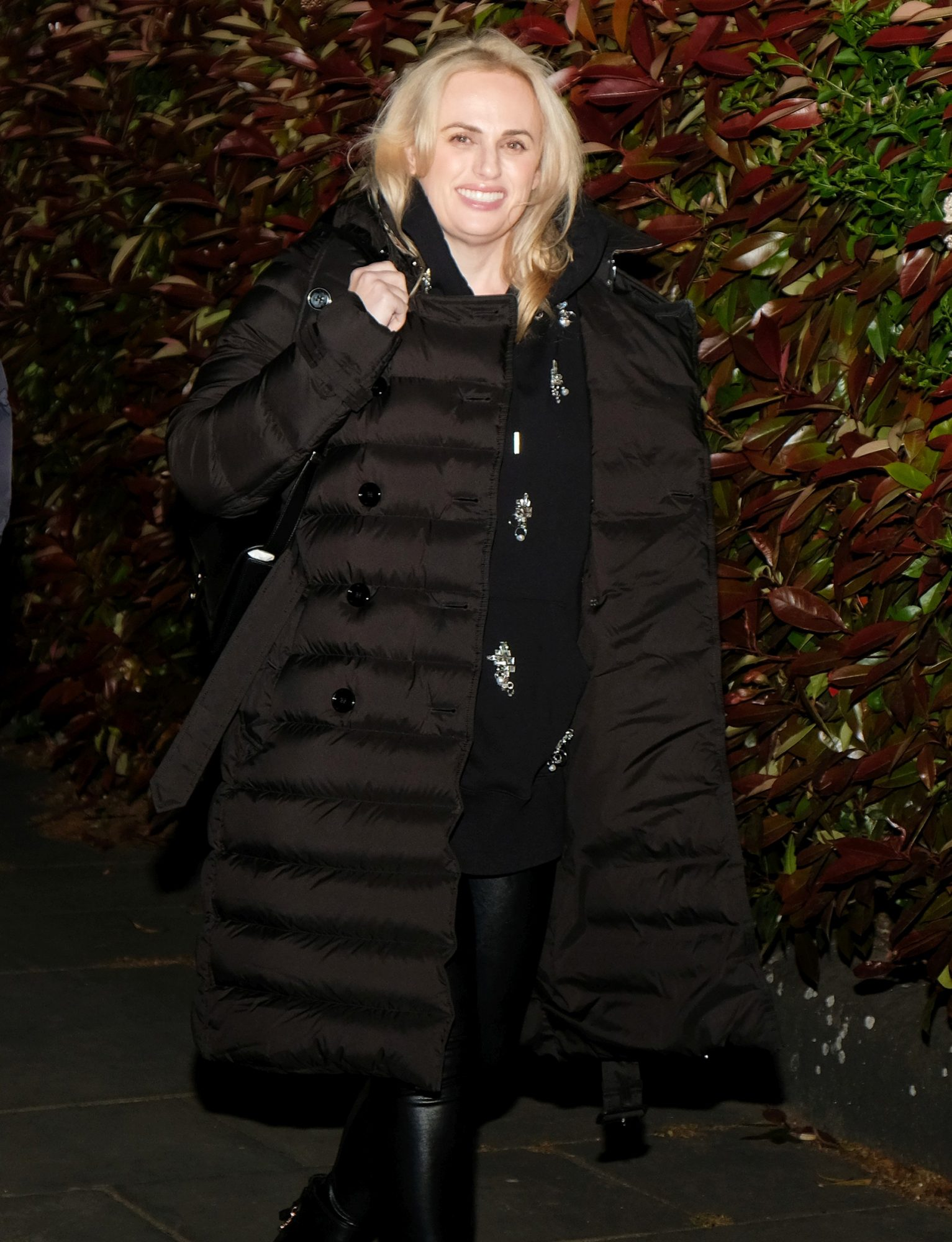 Rebel Wilson Shows Off Her Weightloss As She Enjoys A Rare Night Out In Chameleon Restaurant, London