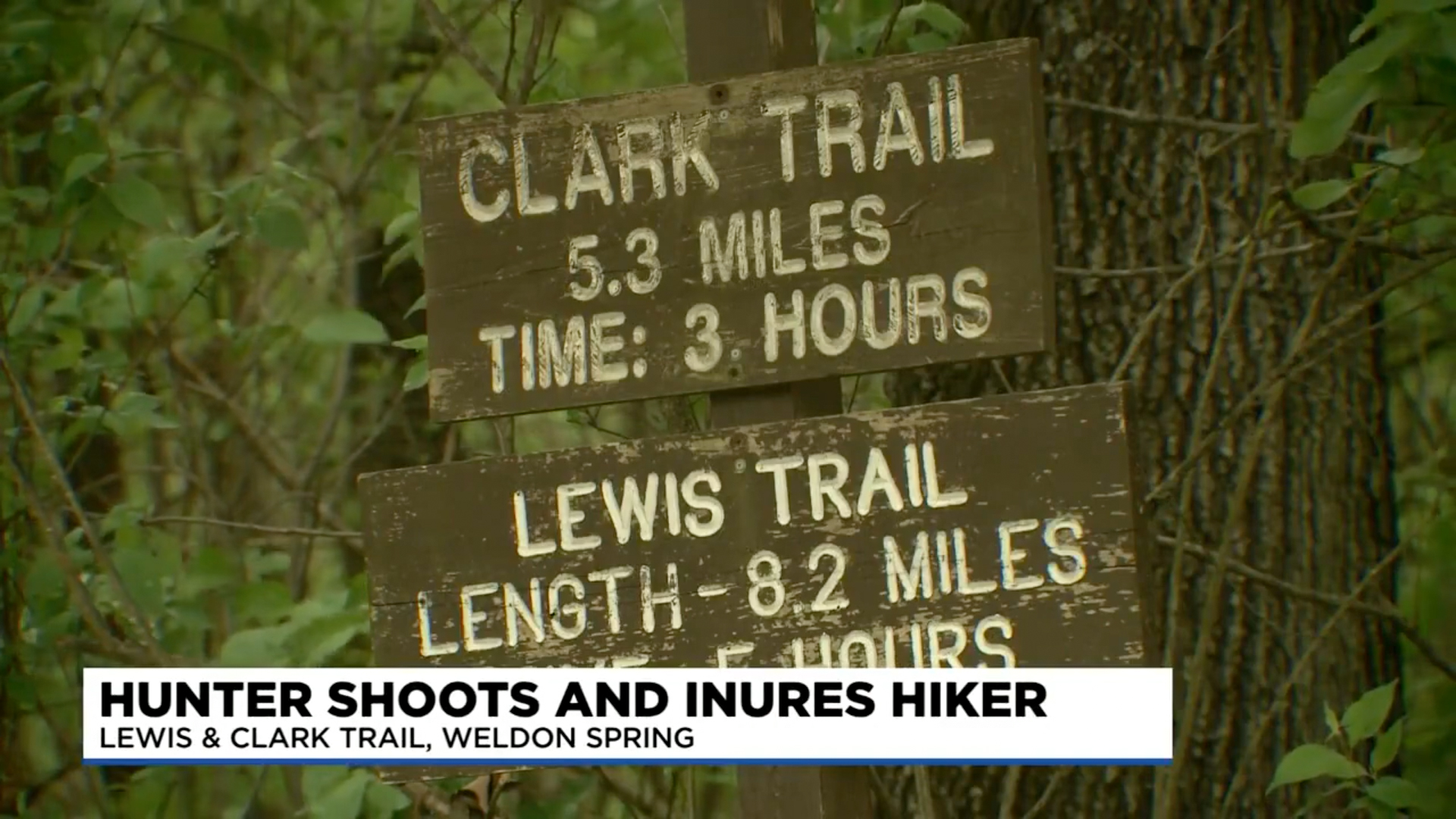 Hunter accidentally shoots hiker in St. Charles County