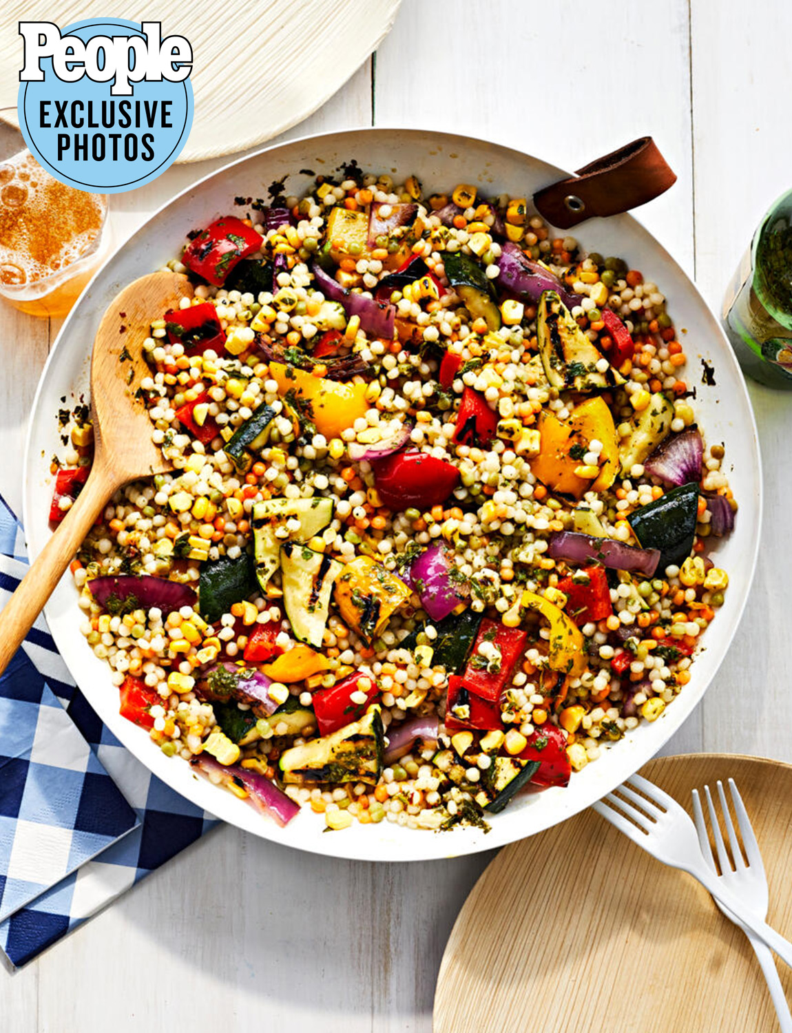 Melba Wilson's Grilled Vegetable and Couscous Salad