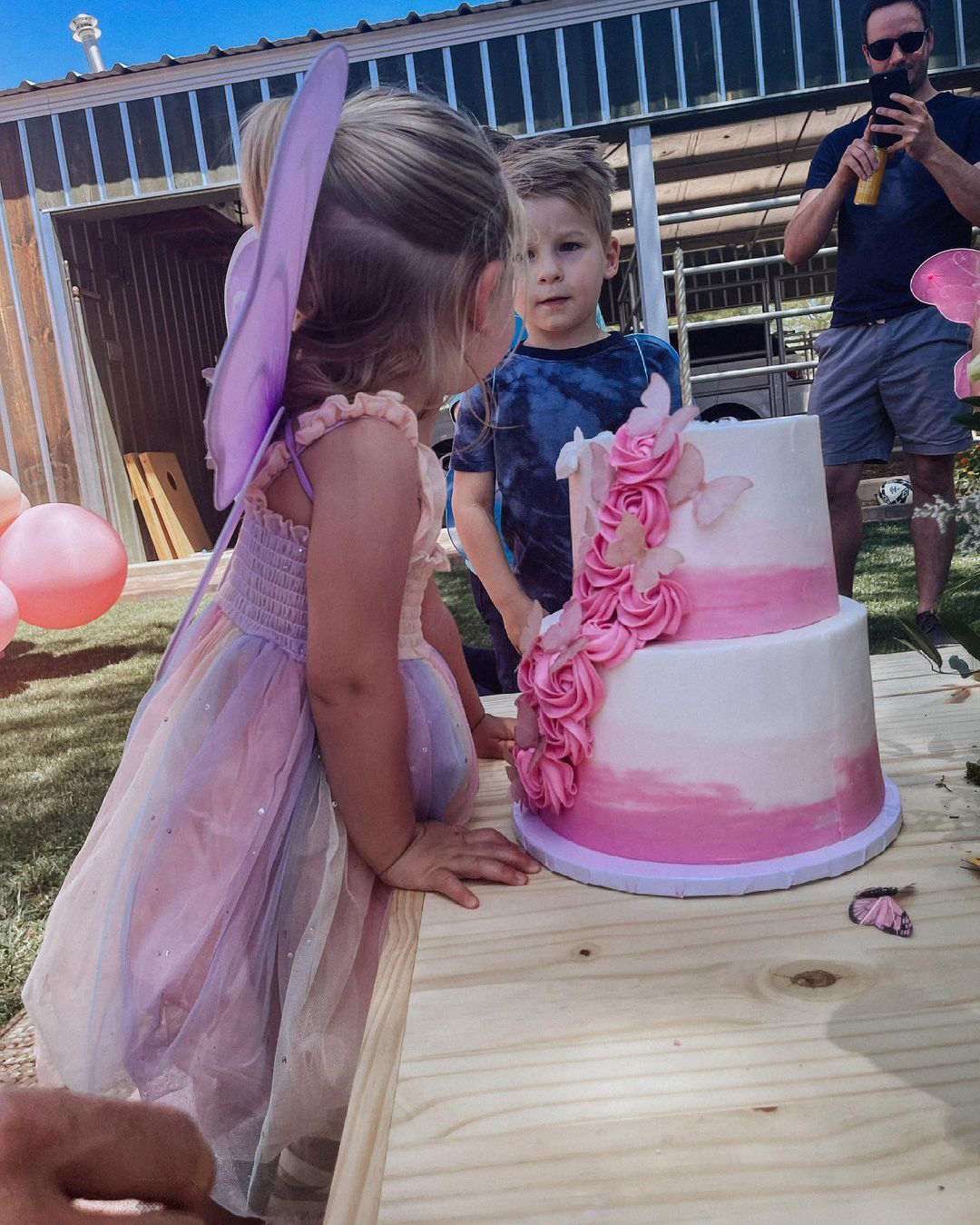 Pregnant Lauren Burnham Throws Birthday Party for Daughter Before Twins' Arrival