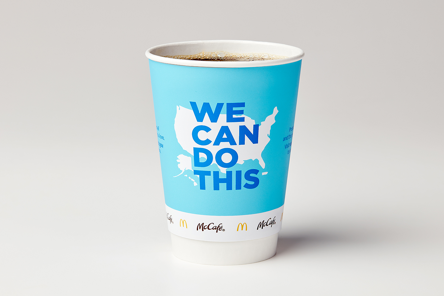 McDonald's Partners with White House to Promote Vaccine Awareness Through New Cups, Billboards