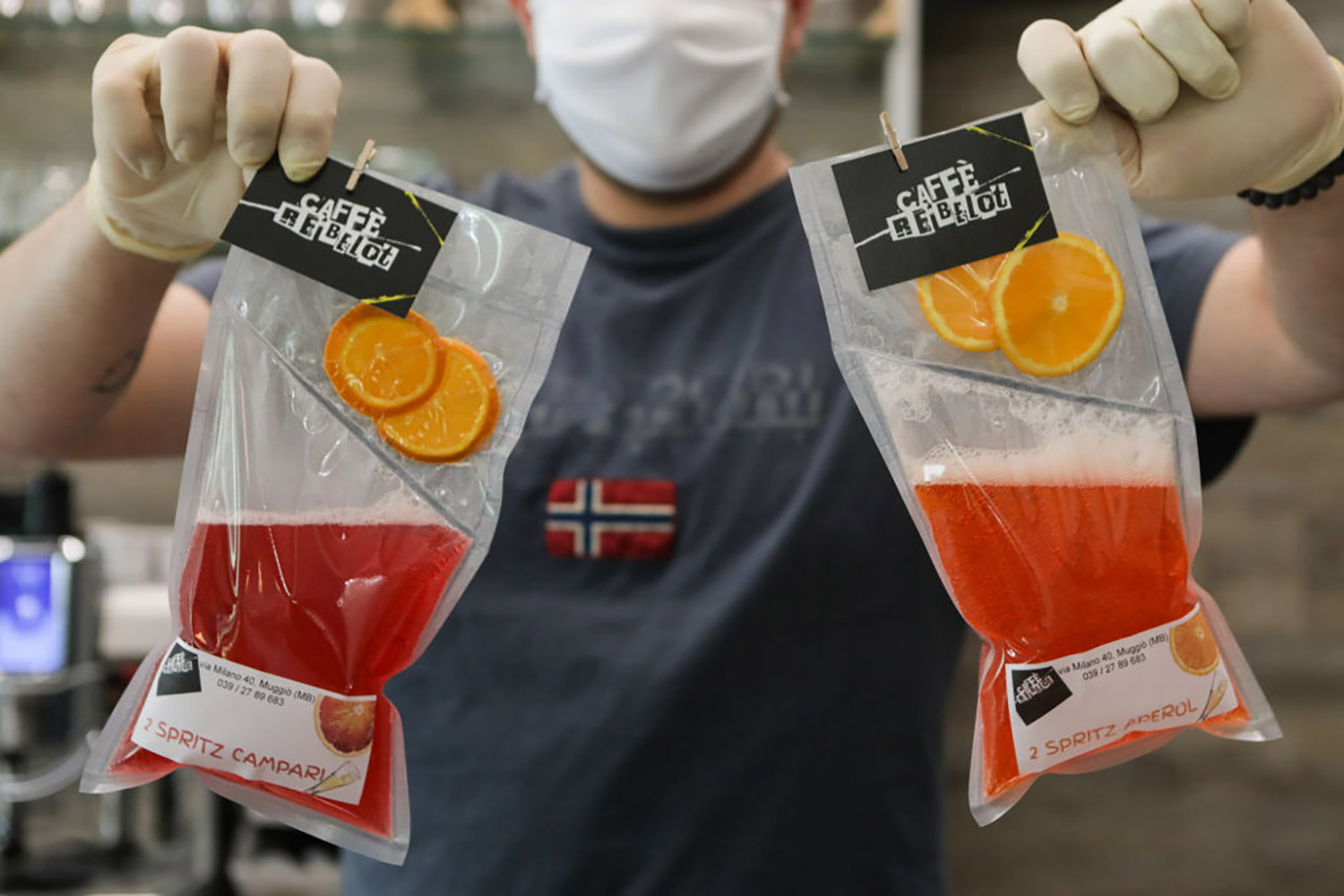 Take-away Cocktails For Customers