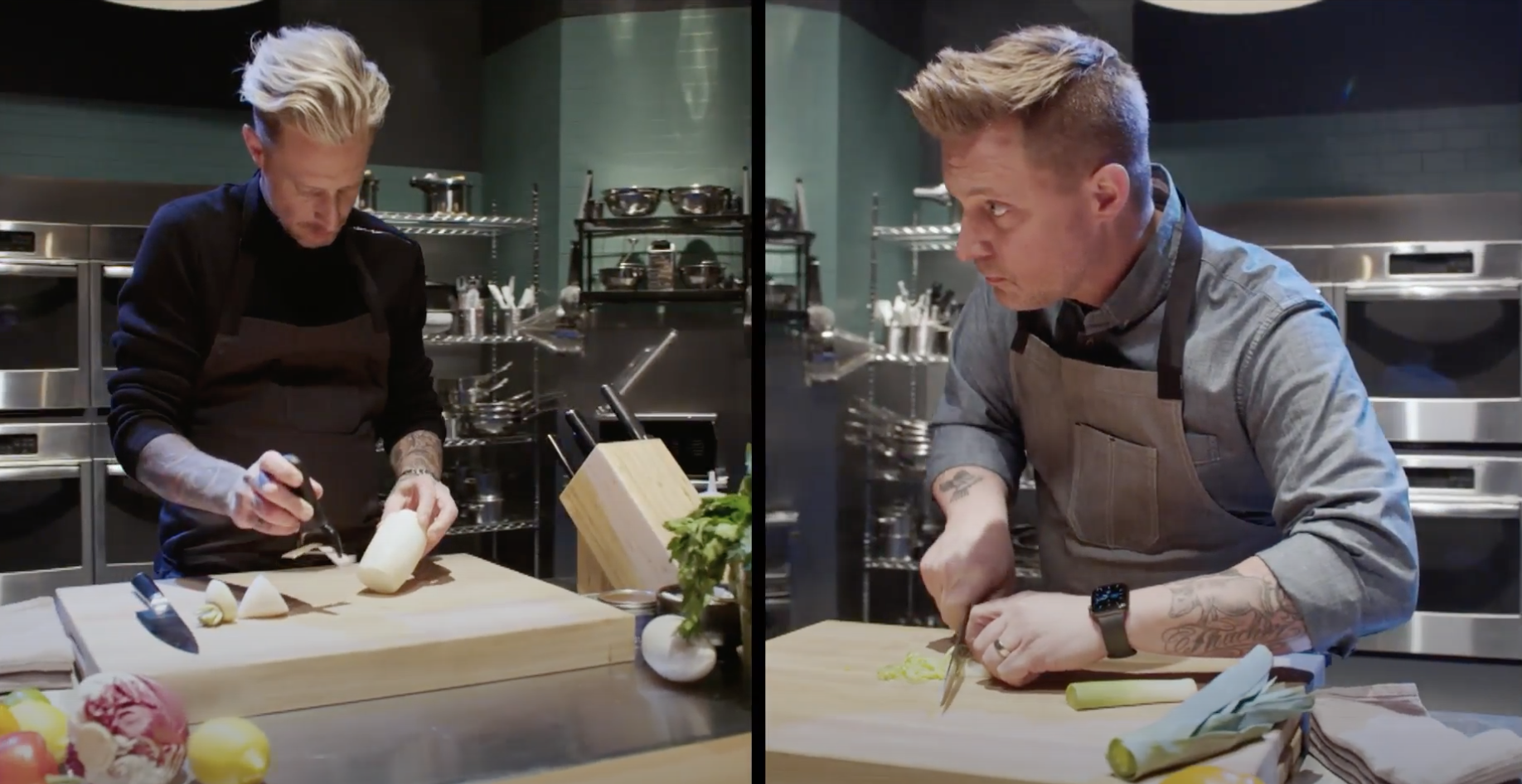 Battle of the Brothers discovery+ Bryan and Michael Voltaggio