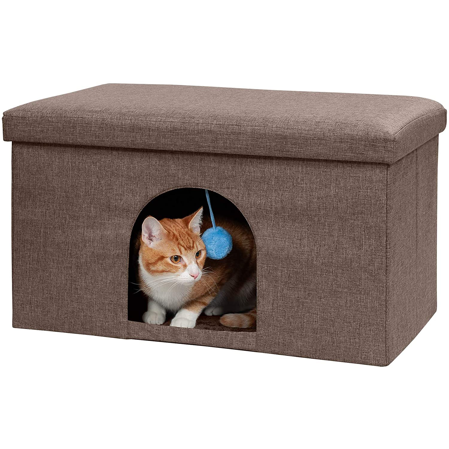 Furhaven Pet Ottoman and Footstool
