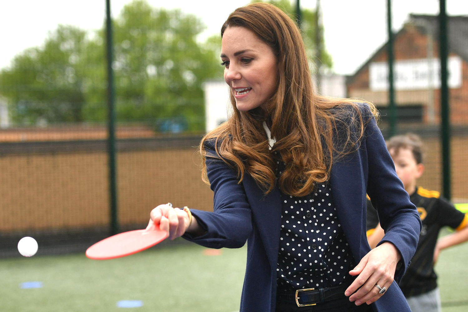 Kate and William in Woverhampton