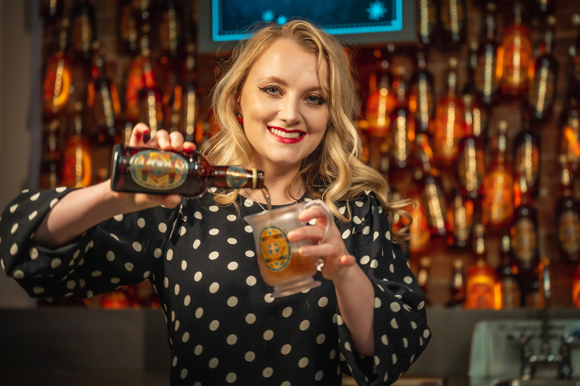Harry Potter's Evanna Lynch (a.k.a. Luna Lovegood) Previews N.Y.C.'s Upcoming Potter-Themed Store