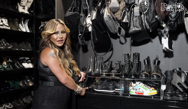 Orianne Collins closet; Hollywood at Home