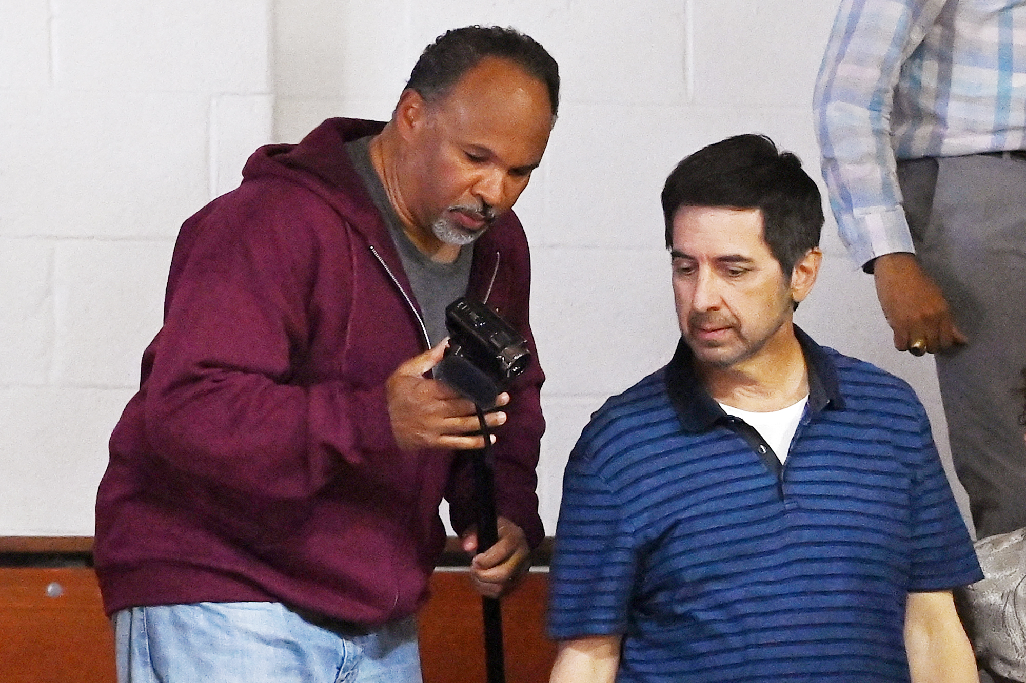 Geoffrey Owens Back At Work On The Ray Romano Project In New York City