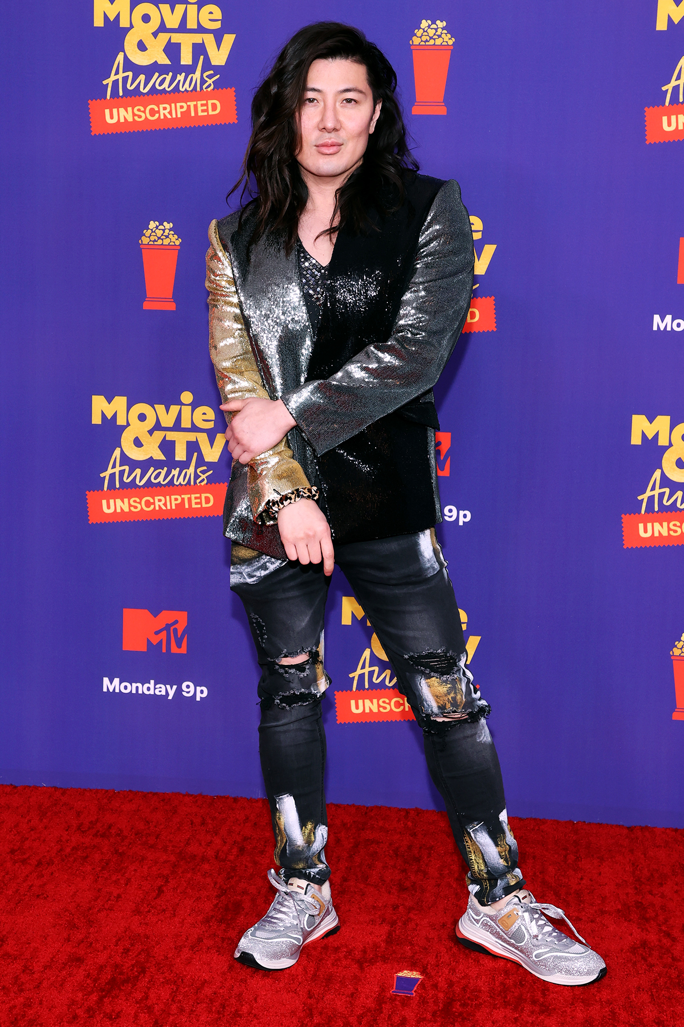 Guy Tang -- 2021 MTV Movie & TV Awards: UNSCRIPTED - Arrivals