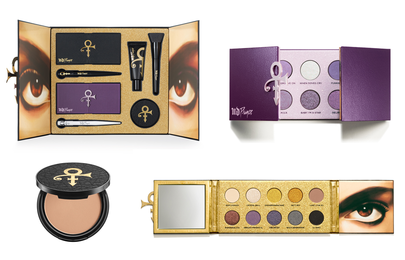 The Prince Estate x Urban Decay Unveil Capsule Collection