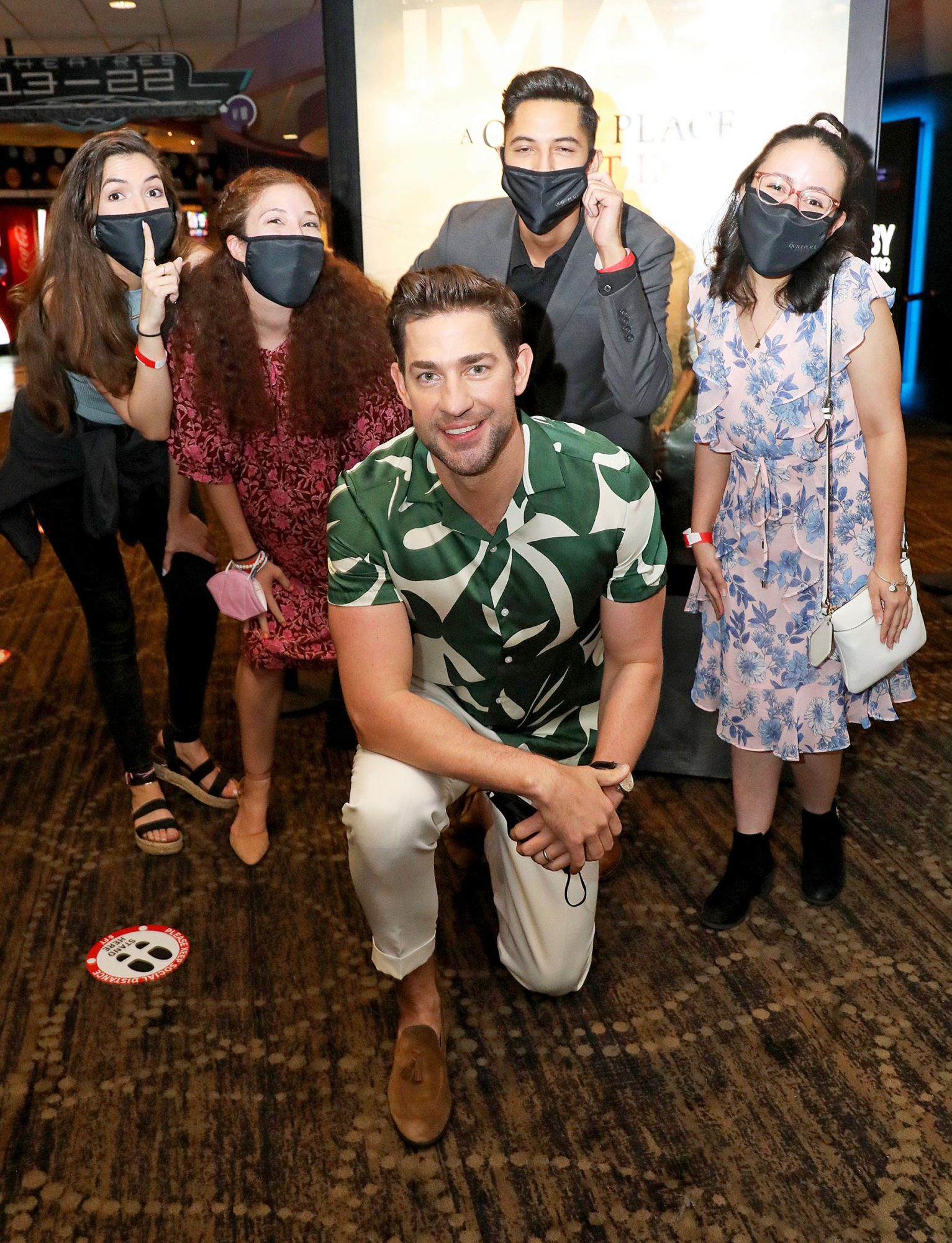 John Krasinski attends the Miami screening of 'A Quiet Place Part II' at the AMC Sunset Place 24 on May 19, 2021 in South Miami, Florida