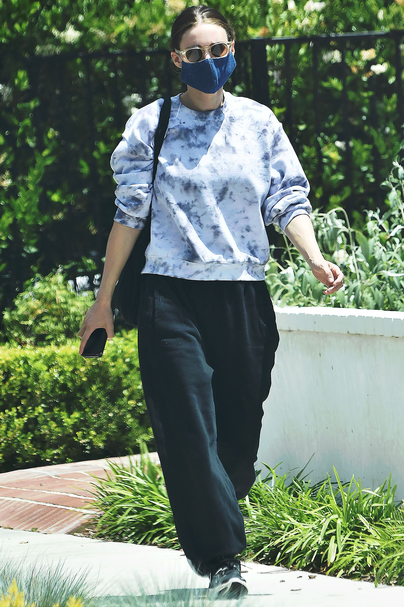 Actress Rooney Mara out and about in Los Angeles