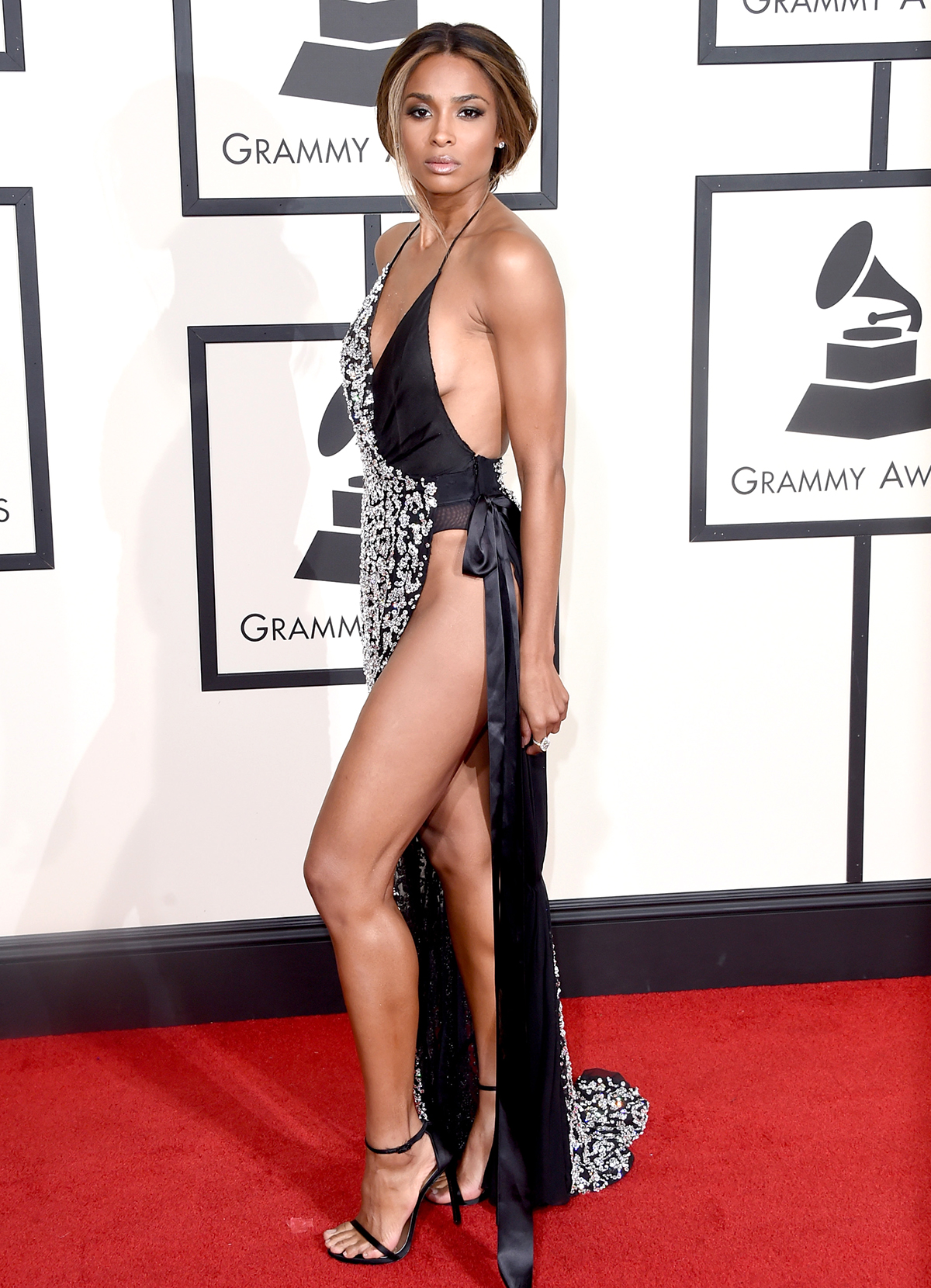 Singer Ciara attends The 58th GRAMMY Awards