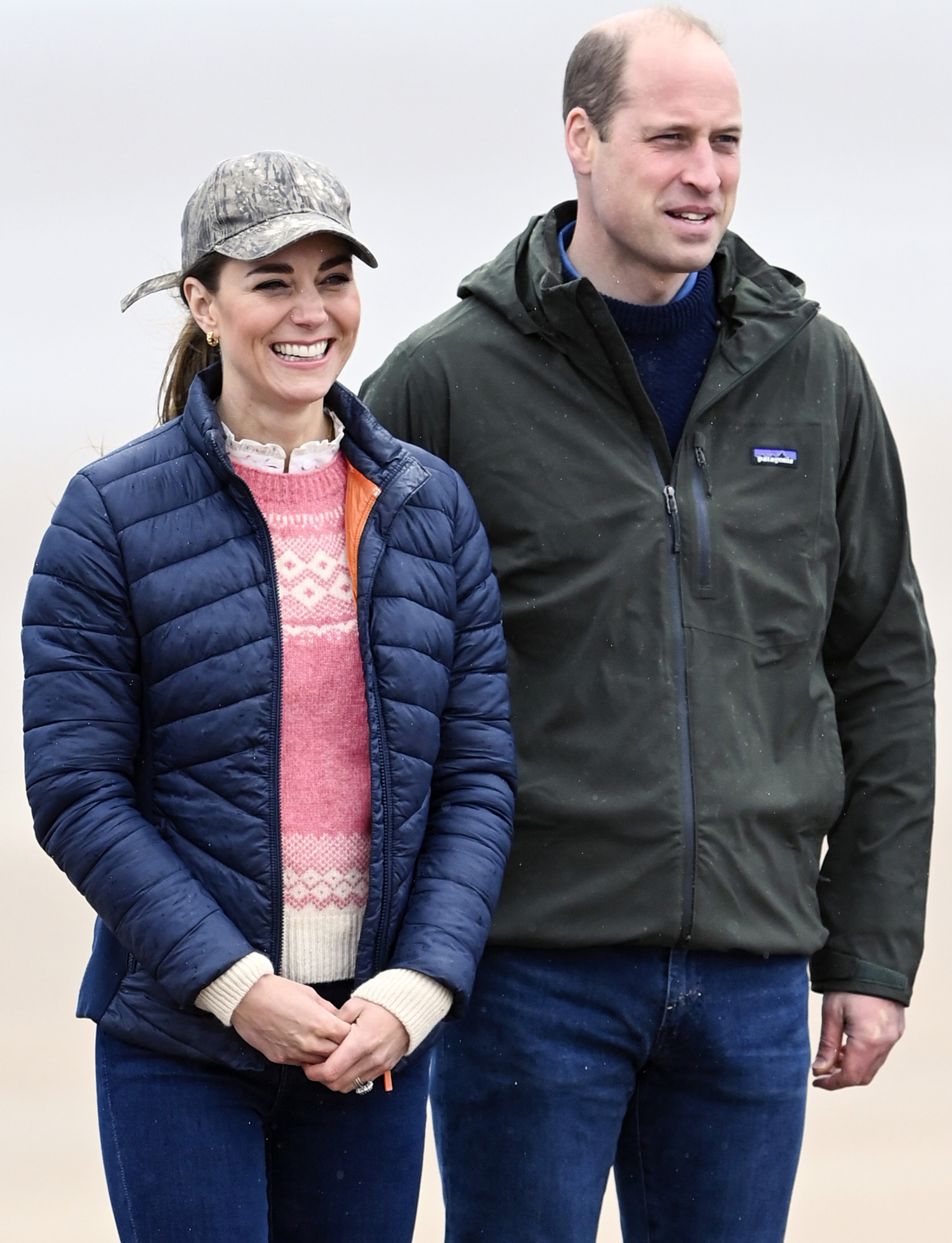 Prince William and Catherine Duchess of Cambridge Prince William and Catherine Duchess of Cambridge land yachting