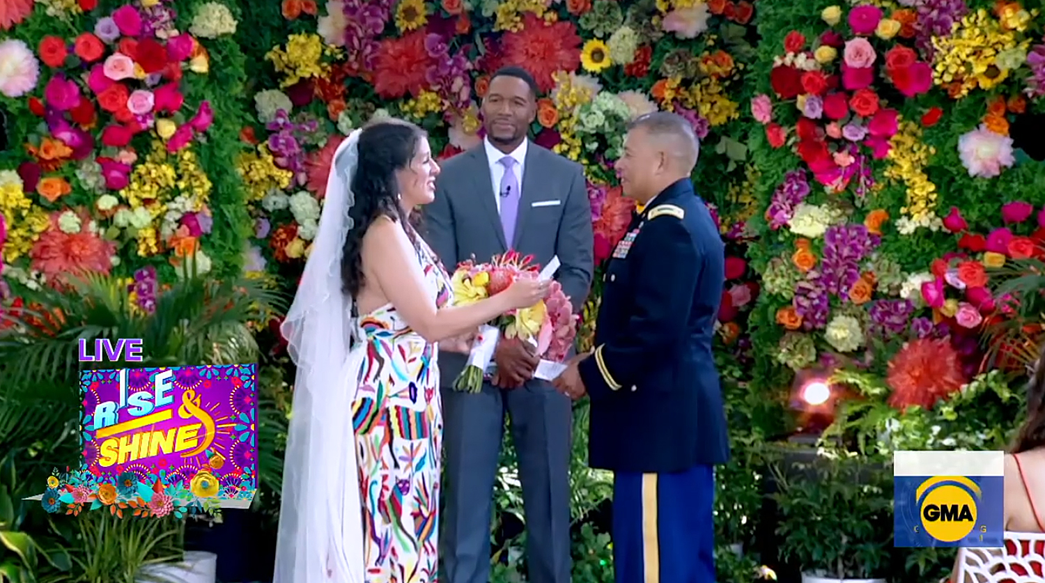 Jose Perez and Heather Hathaway Miranda finally get to have the wedding of their dreams