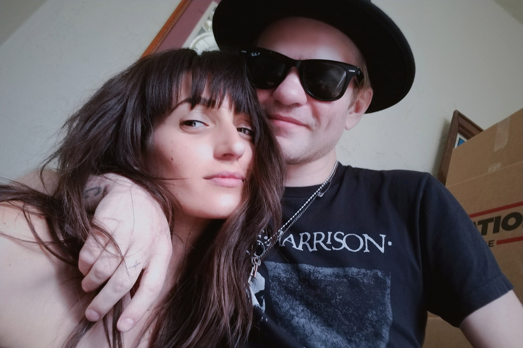 Sum 41's Deryck Whibley and wife Ari