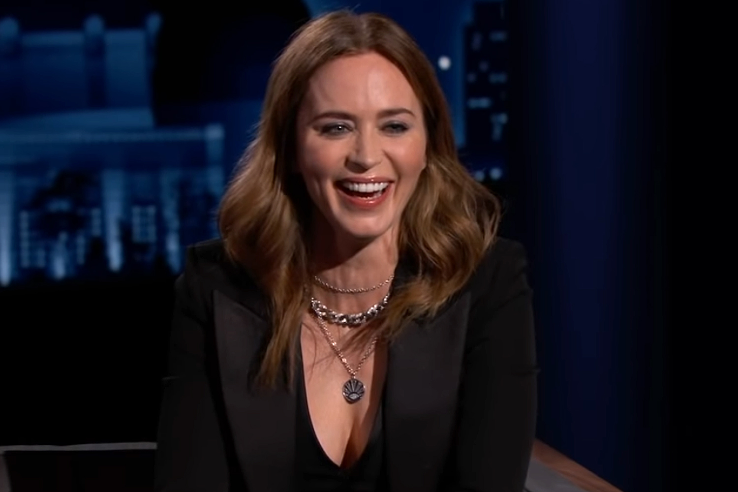 Emily Blunt on Her Horrible First Kiss