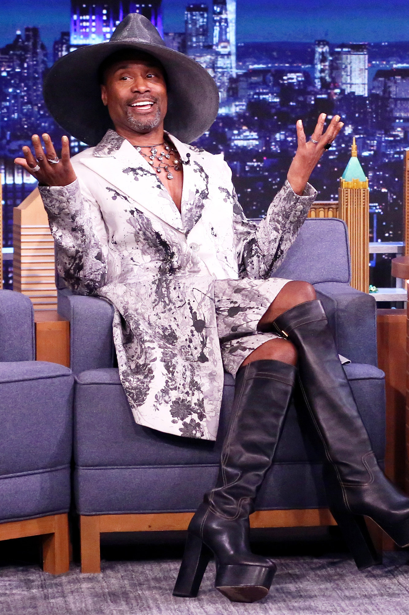 THE TONIGHT SHOW STARRING JIMMY FALLON -- Episode 1472 -- Pictured: Actor Billy Porter during an interview on Thursday, May 27, 2021