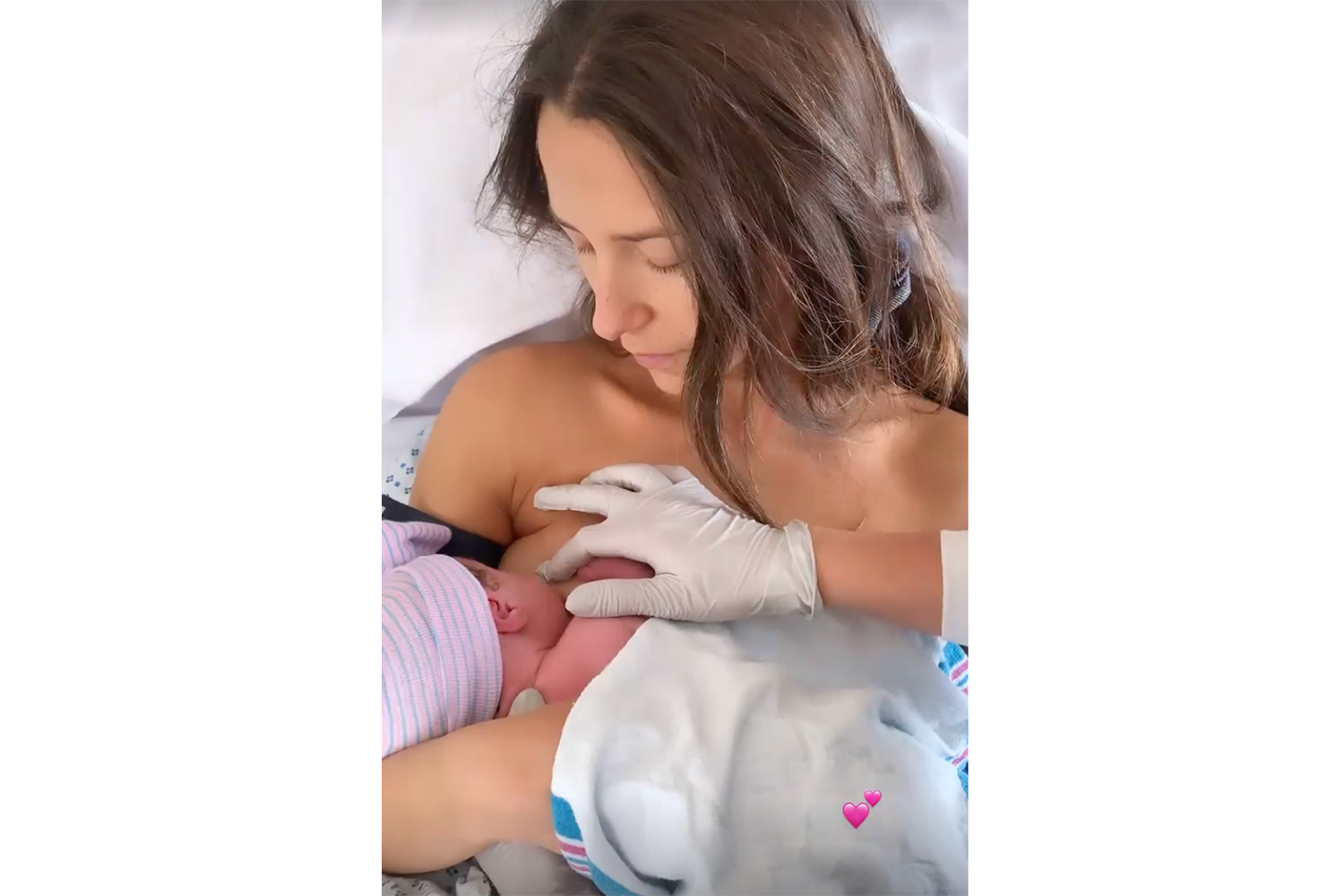 Arielle Charnas baby